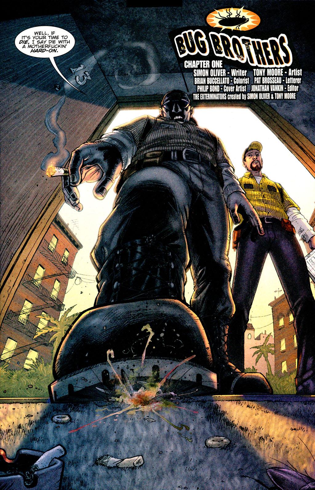Read online The Exterminators comic -  Issue #1 - 4