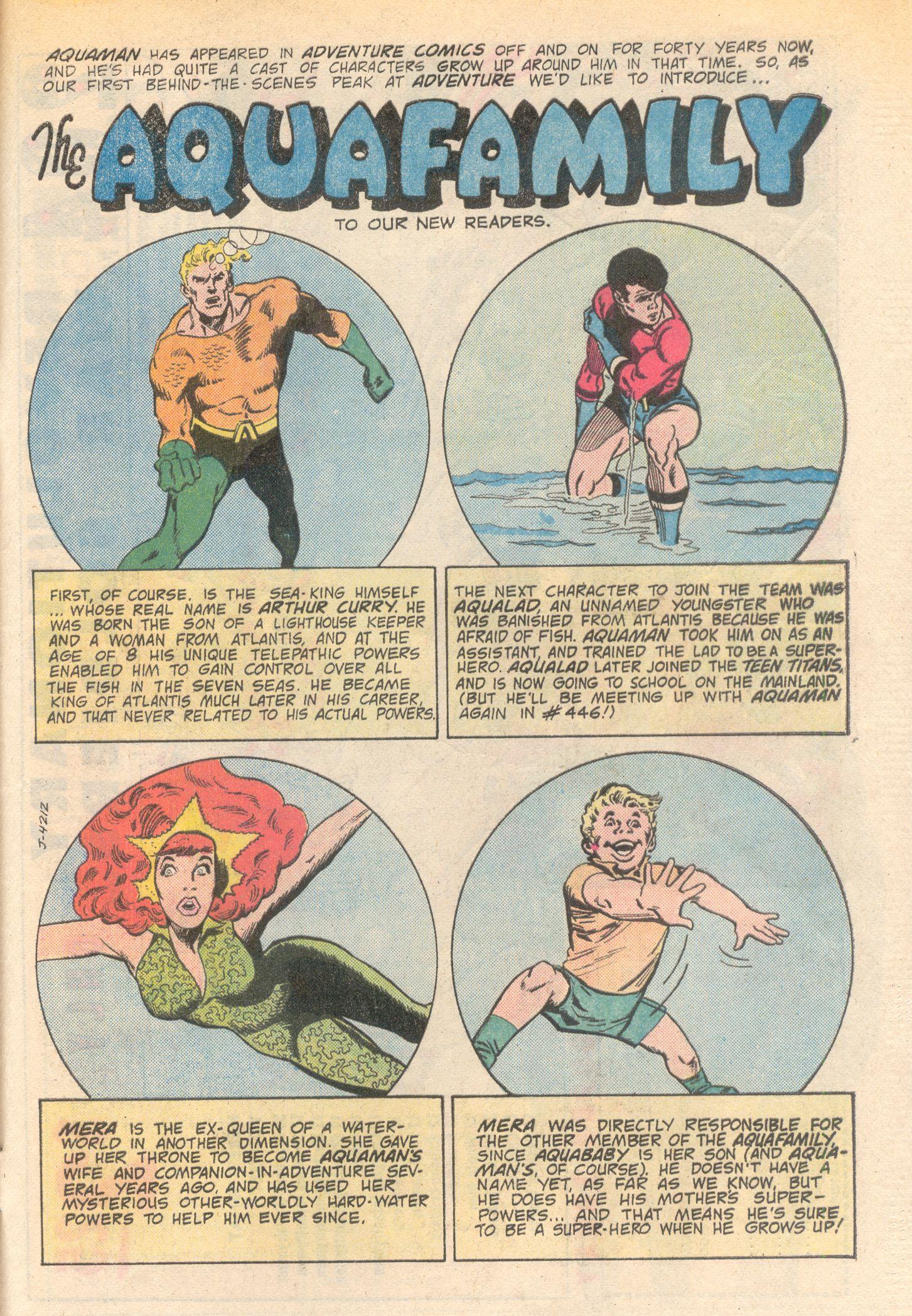 Read online Adventure Comics (1938) comic -  Issue #444 - 33