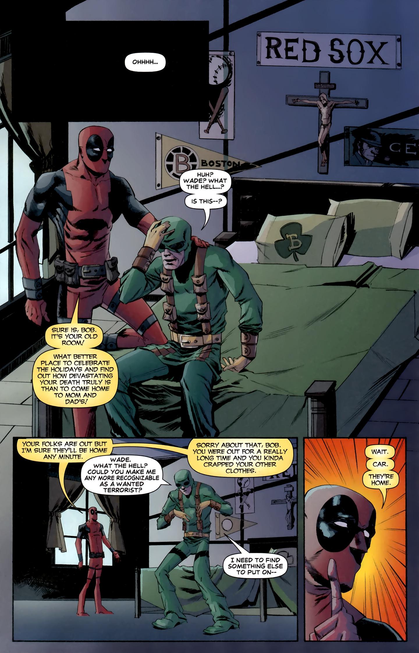 Read online Deadpool MAX X-Mas Special comic -  Issue # Full - 23