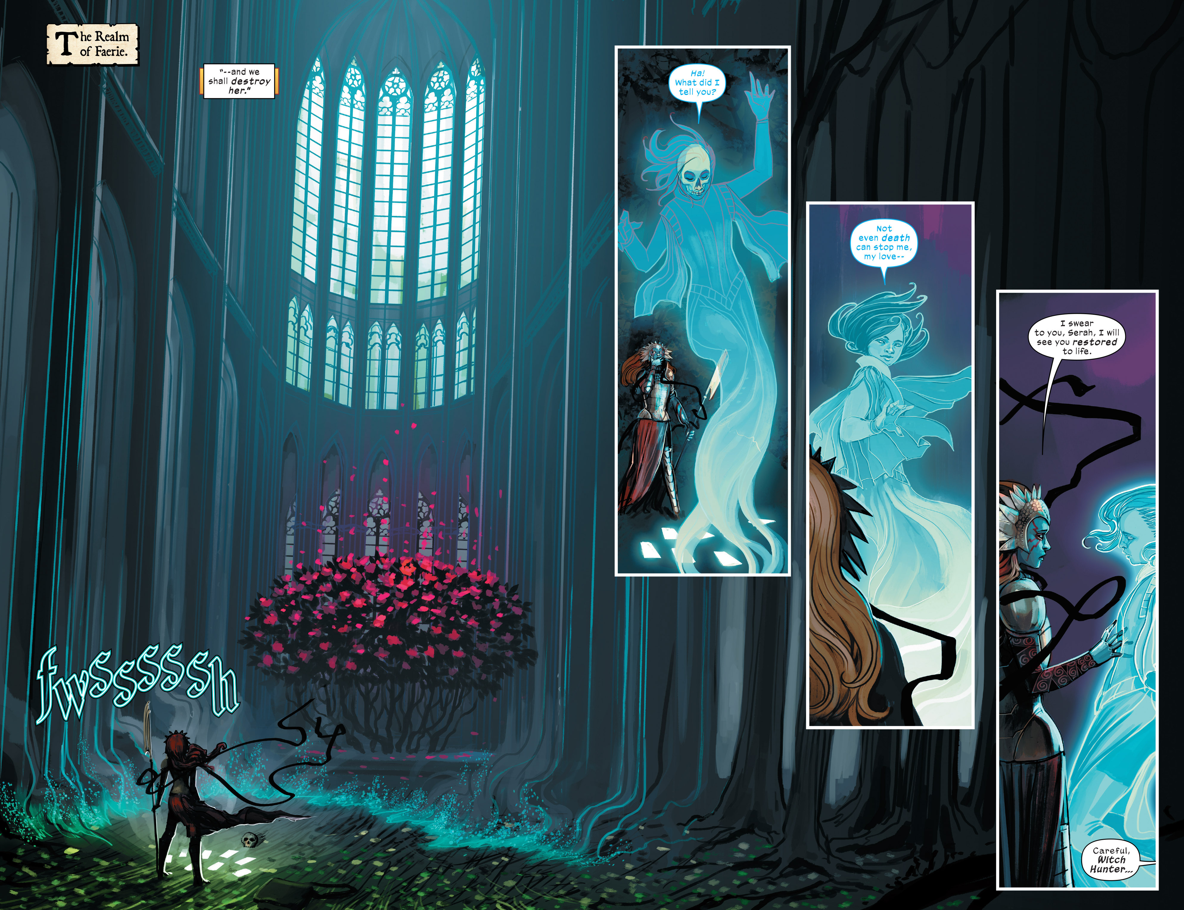 Read online 1602 Witch Hunter Angela comic -  Issue #4 - 4