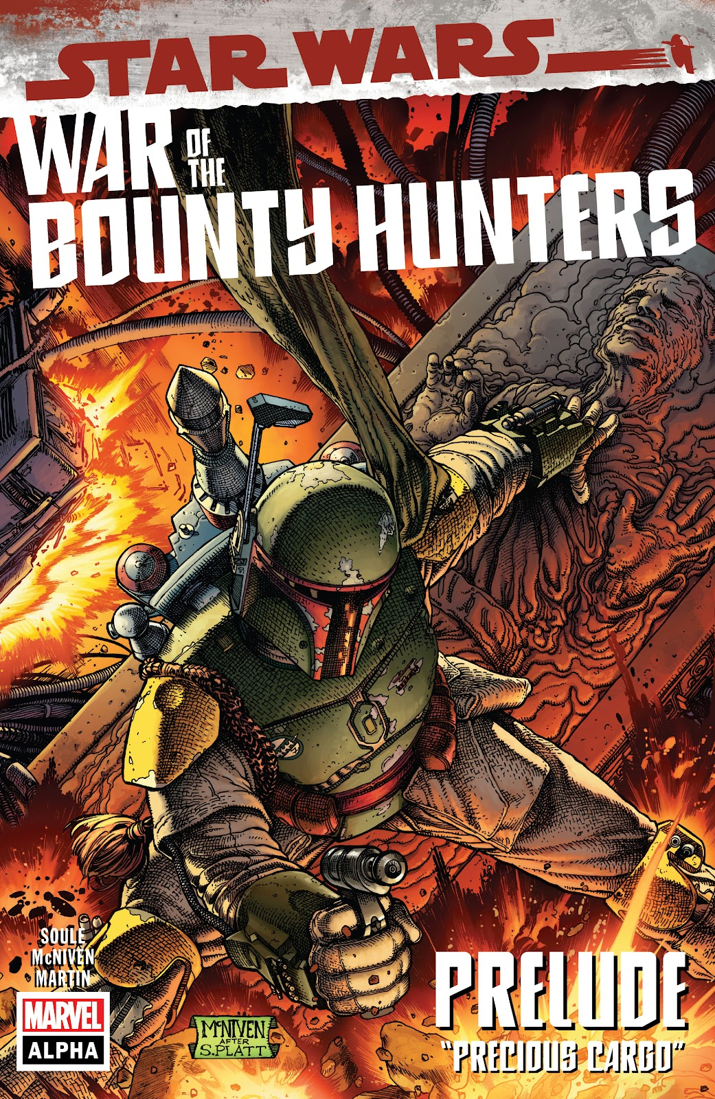 Star Wars: War Of The Bounty Hunters Alpha issue 1 - Page 1