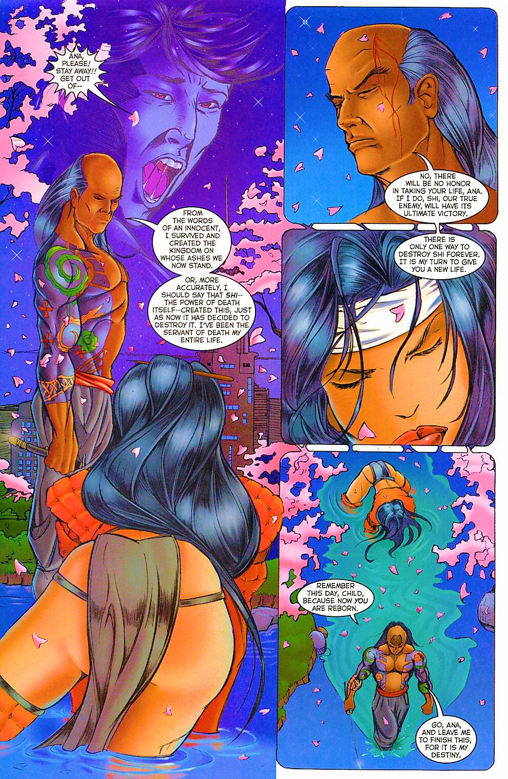 Read online Shi: The Way of the Warrior comic -  Issue #12 - 20