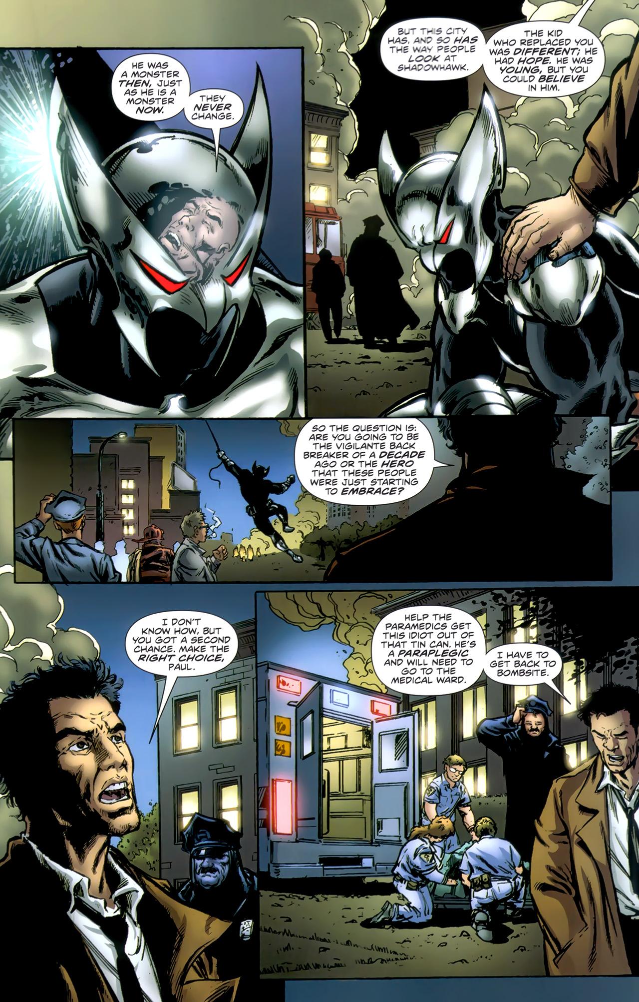 Read online ShadowHawk (2010) comic -  Issue #1 - 21