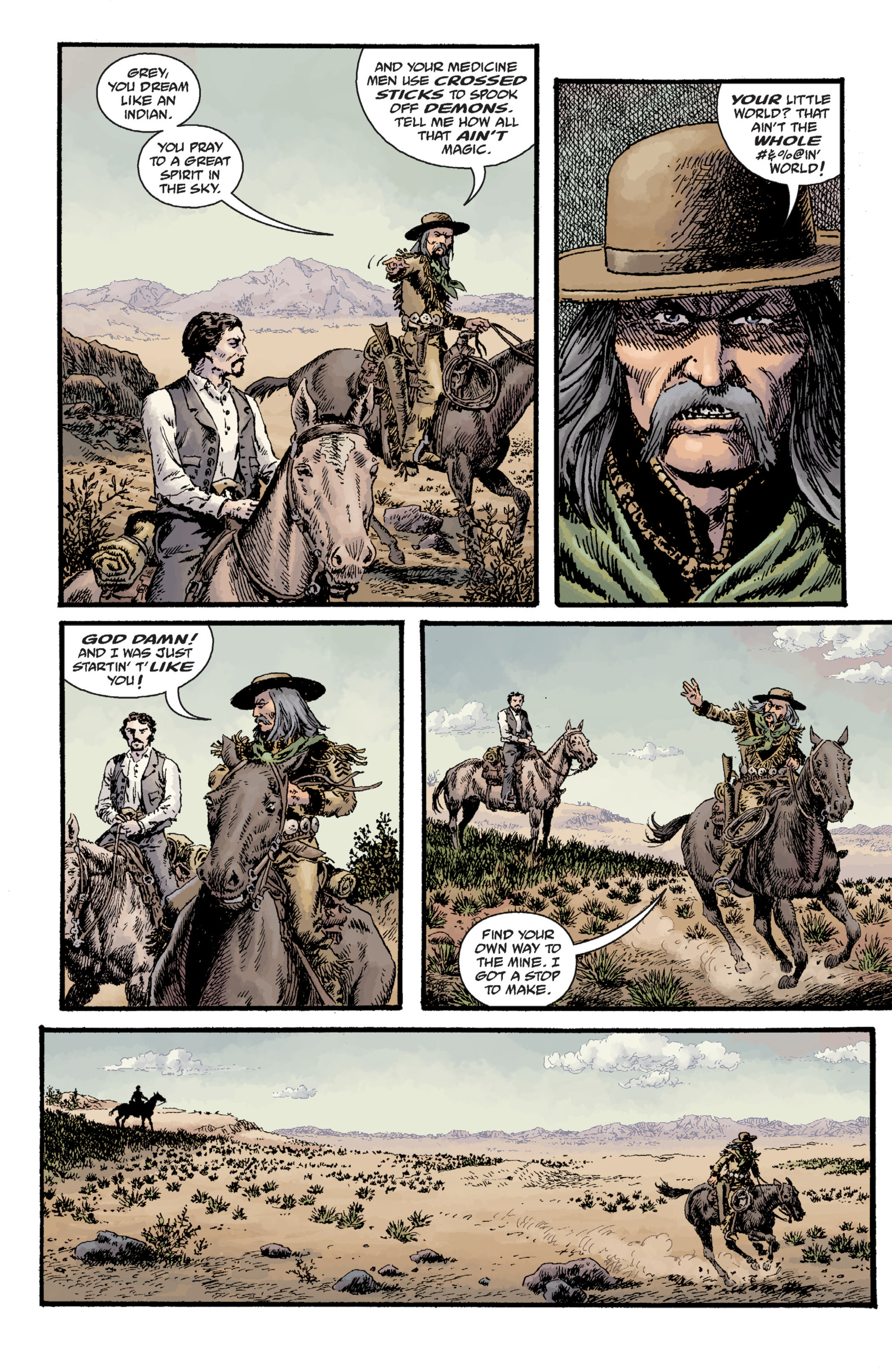 Read online Sir Edward Grey, Witchfinder: Lost and Gone Forever comic -  Issue # TPB - 83