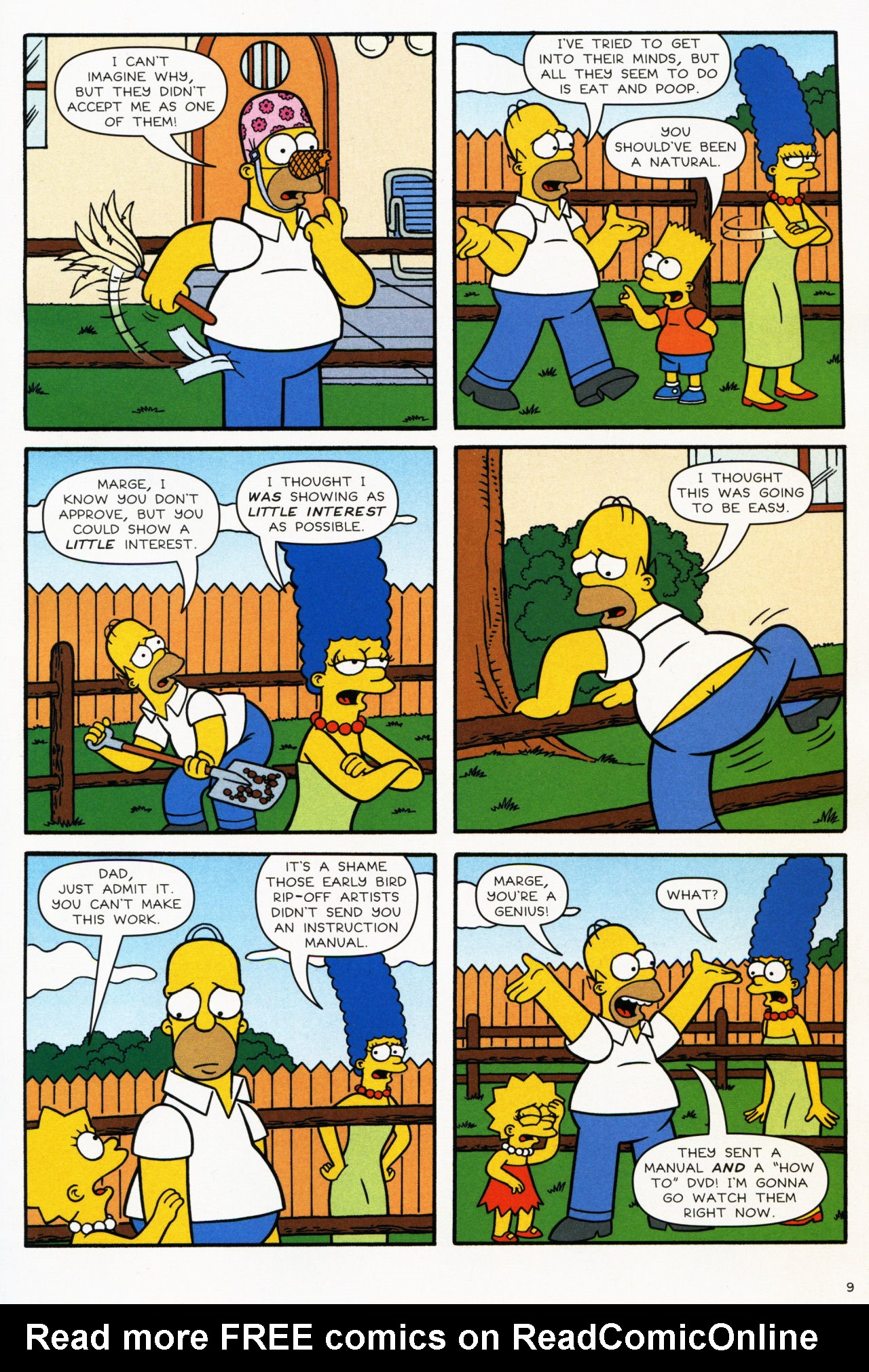 Read online Simpsons Comics comic -  Issue #139 - 9
