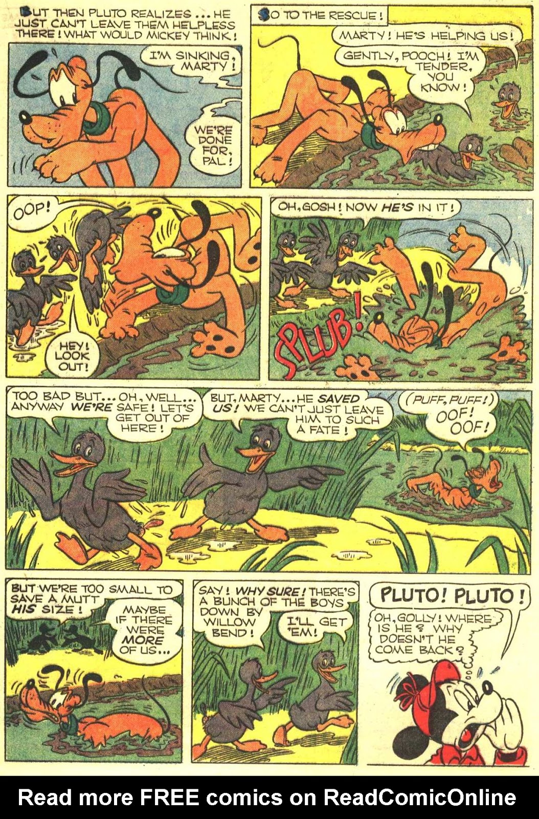 Walt Disney's Comics and Stories issue 193 - Page 21