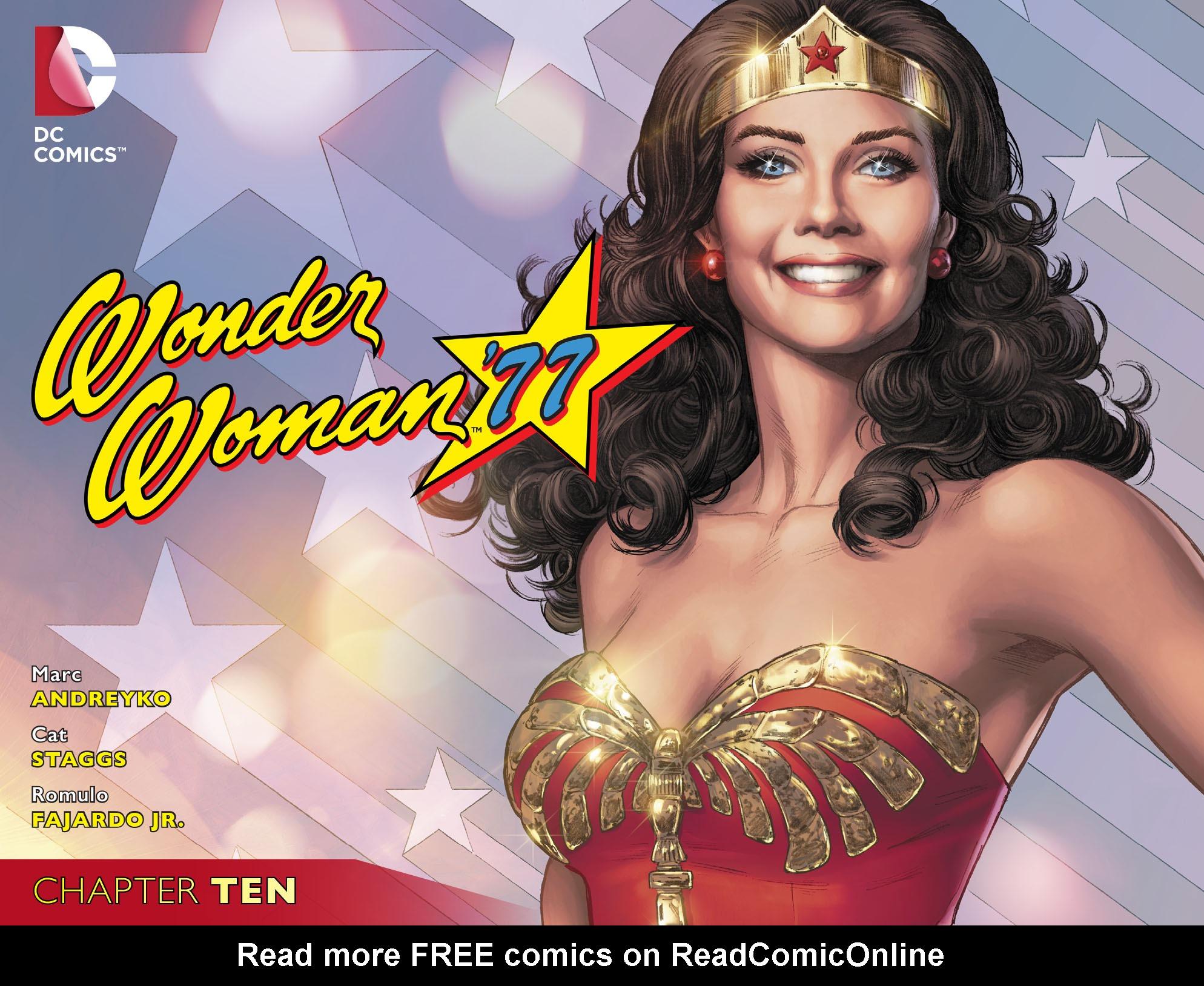 Read online Wonder Woman '77 [I] comic -  Issue #10 - 1