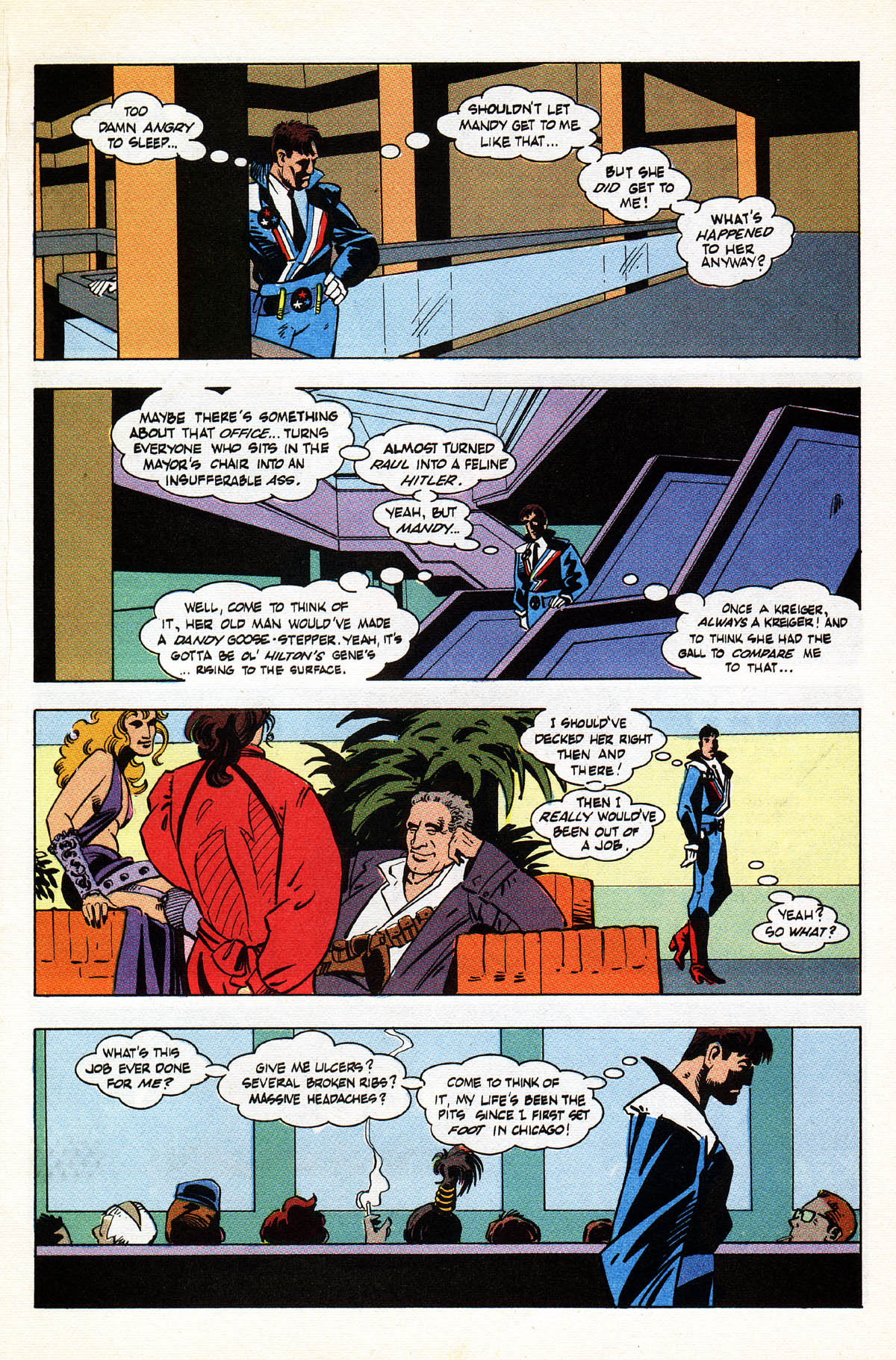Read online American Flagg! comic -  Issue #38 - 9
