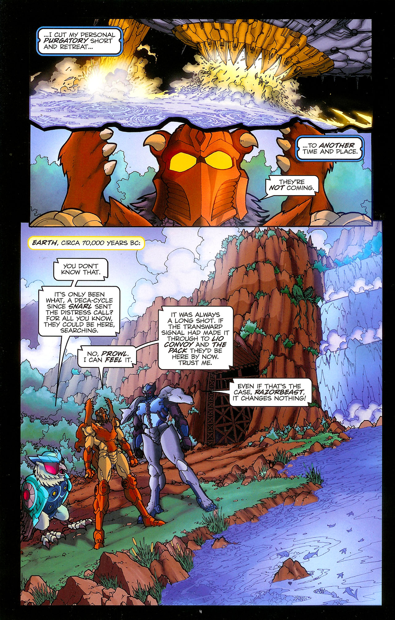 Read online Transformers: Beast Wars: The Ascending comic -  Issue #1 - 6
