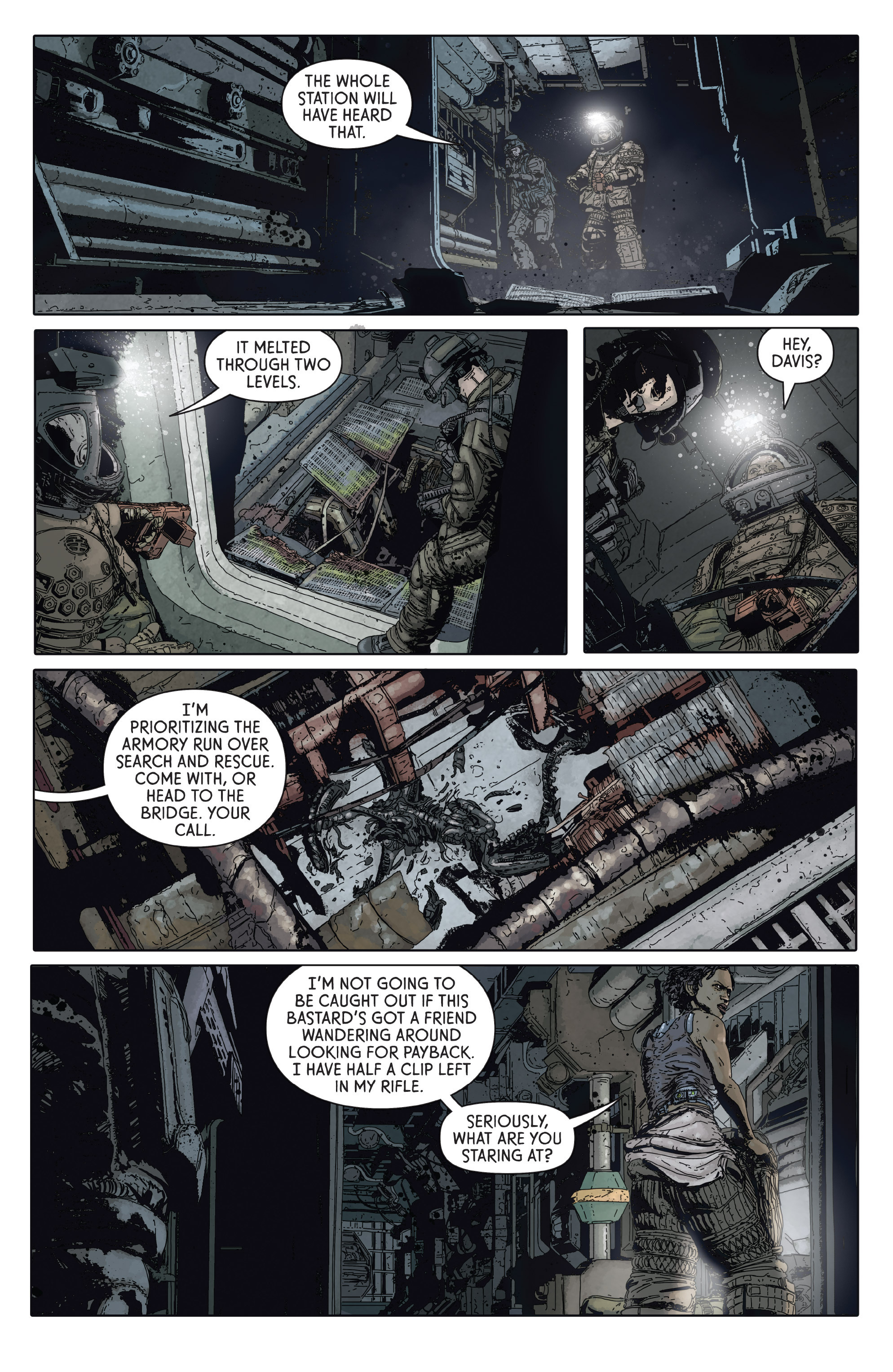 Read online Aliens: Defiance comic -  Issue #2 - 11