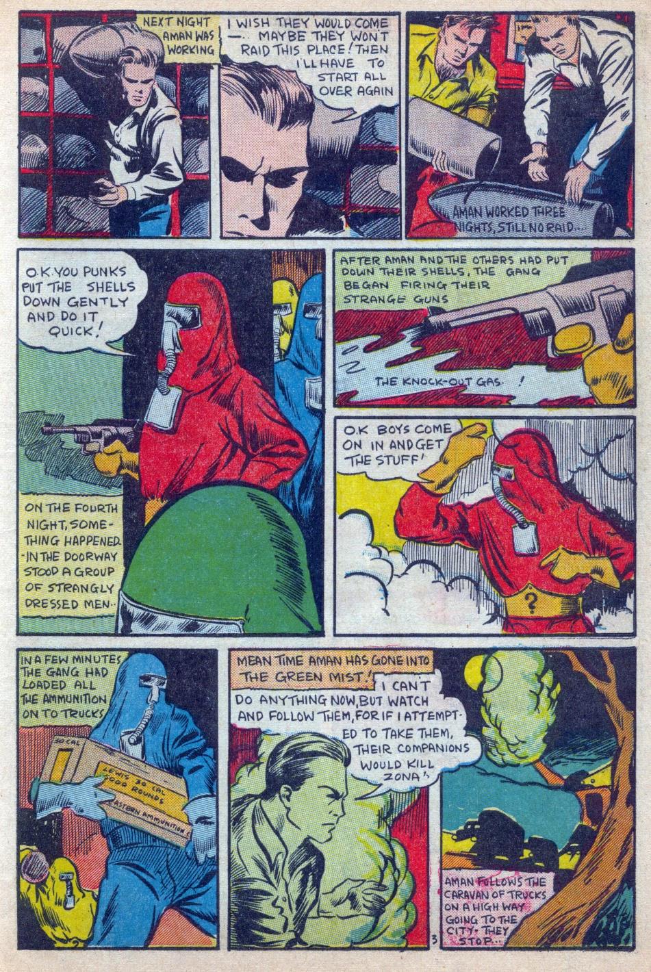 Read online Amazing Man Comics comic -  Issue #15 - 4