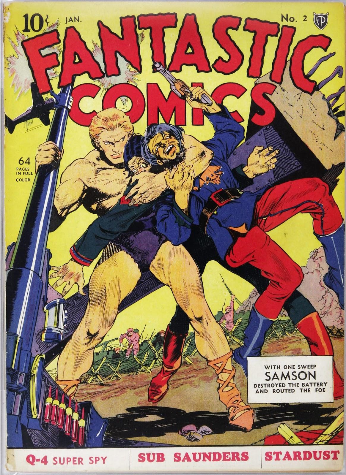 Read online Fantastic Comics comic -  Issue #2 - 2