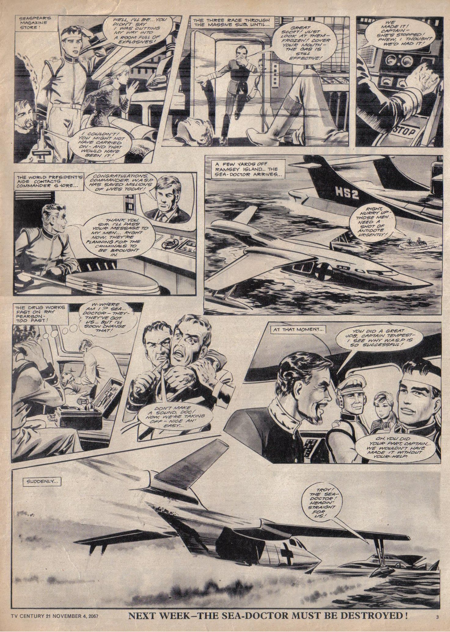 Read online TV Century 21 (TV 21) comic -  Issue #146 - 3