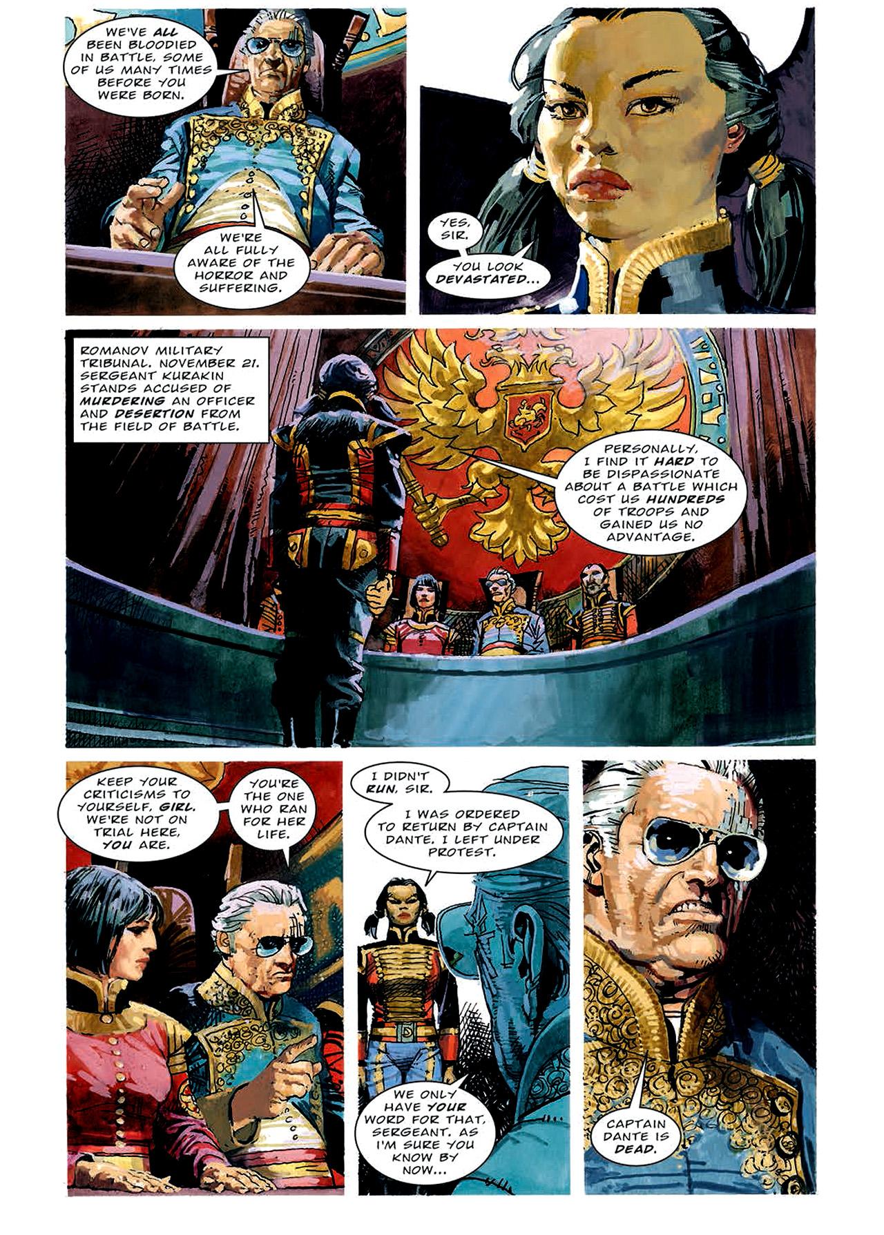 Read online Nikolai Dante comic -  Issue # TPB 4 - 70