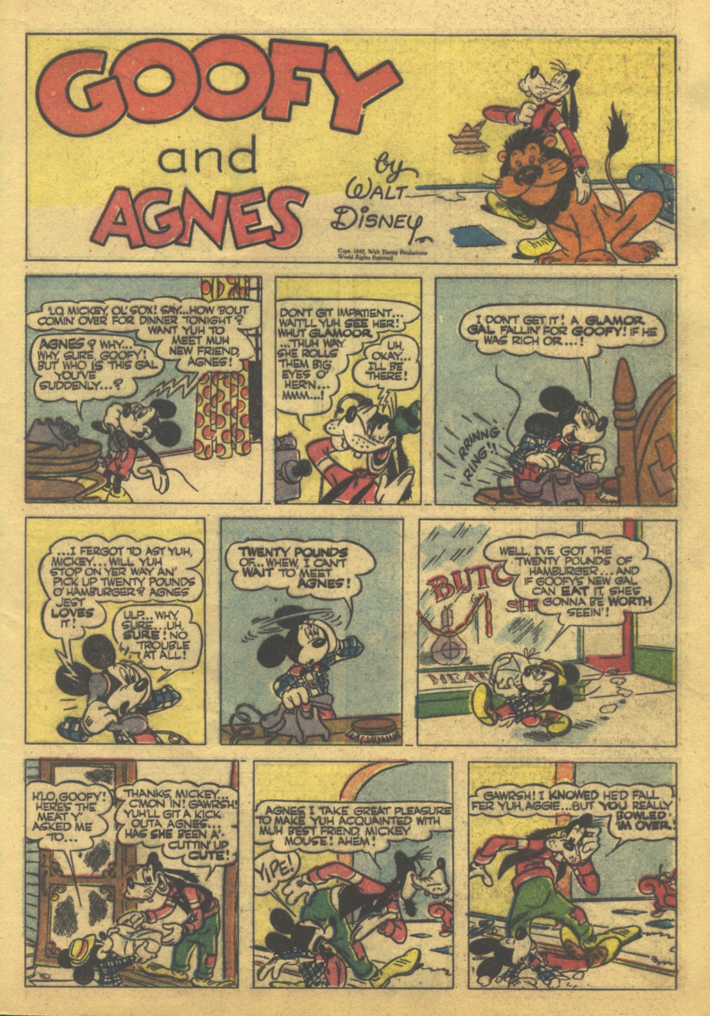 Walt Disney's Comics and Stories issue 86 - Page 43
