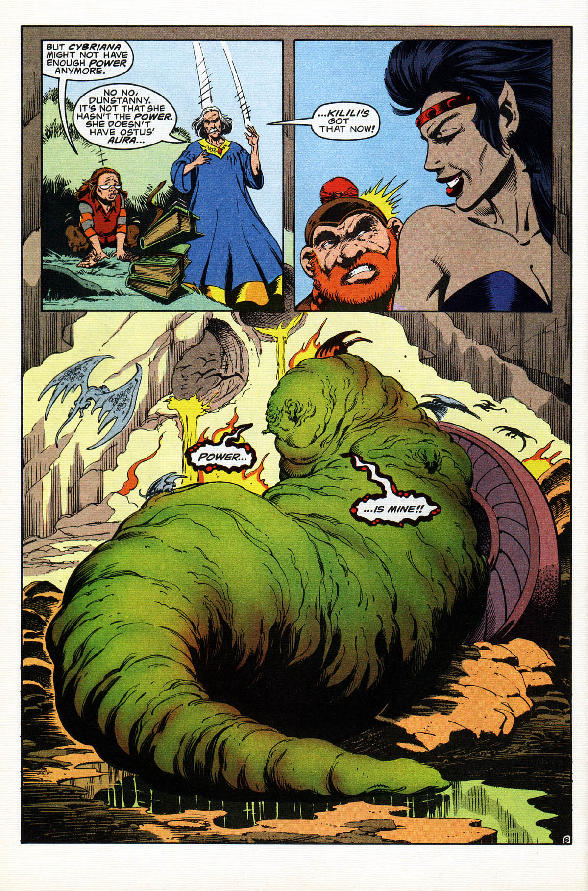 Read online Advanced Dungeons & Dragons comic -  Issue #18 - 9