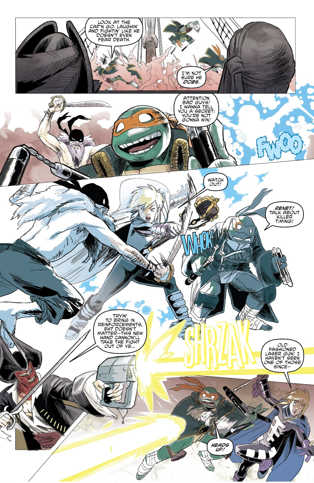 Read online Teenage Mutant Ninja Turtles: The IDW Collection comic -  Issue # TPB 5 (Part 1) - 67