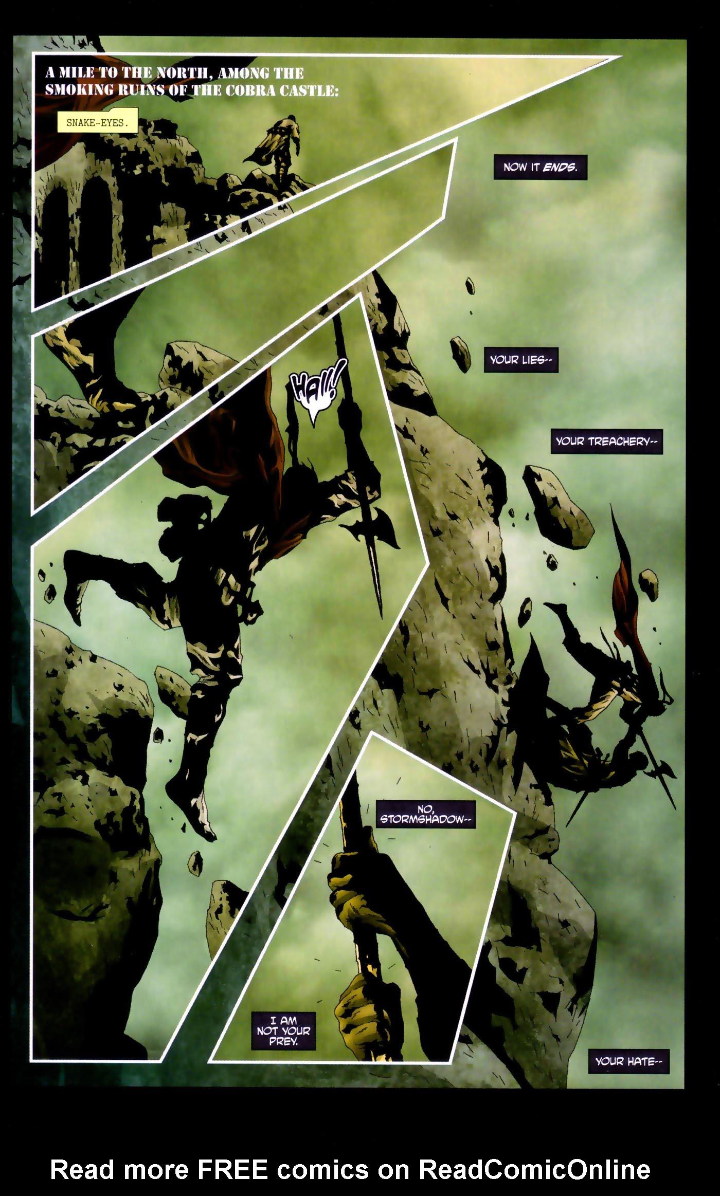 Read online Transformers/G.I. Joe comic -  Issue #4 - 15