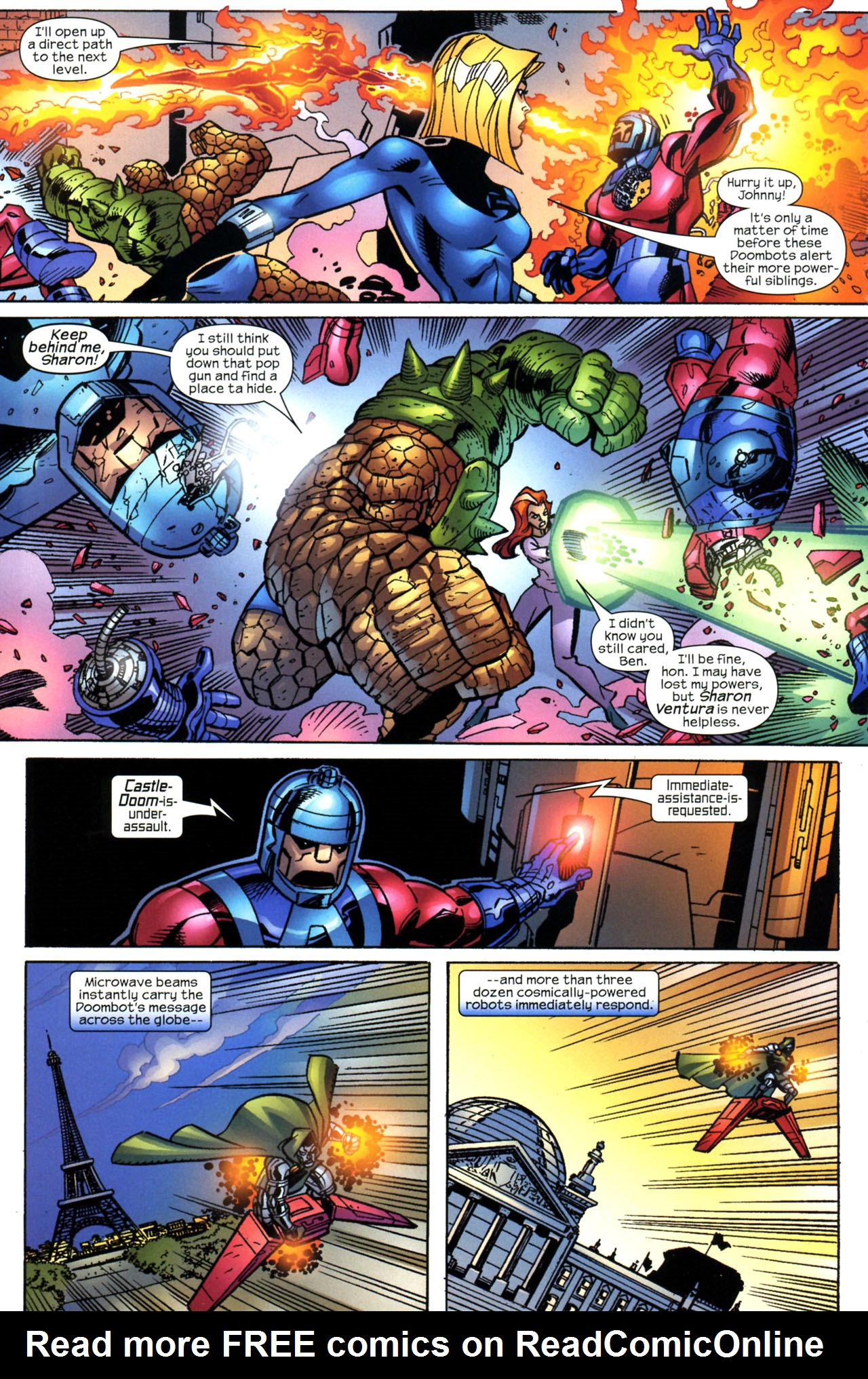 Read online Fantastic Five (2007) comic -  Issue #5 - 14