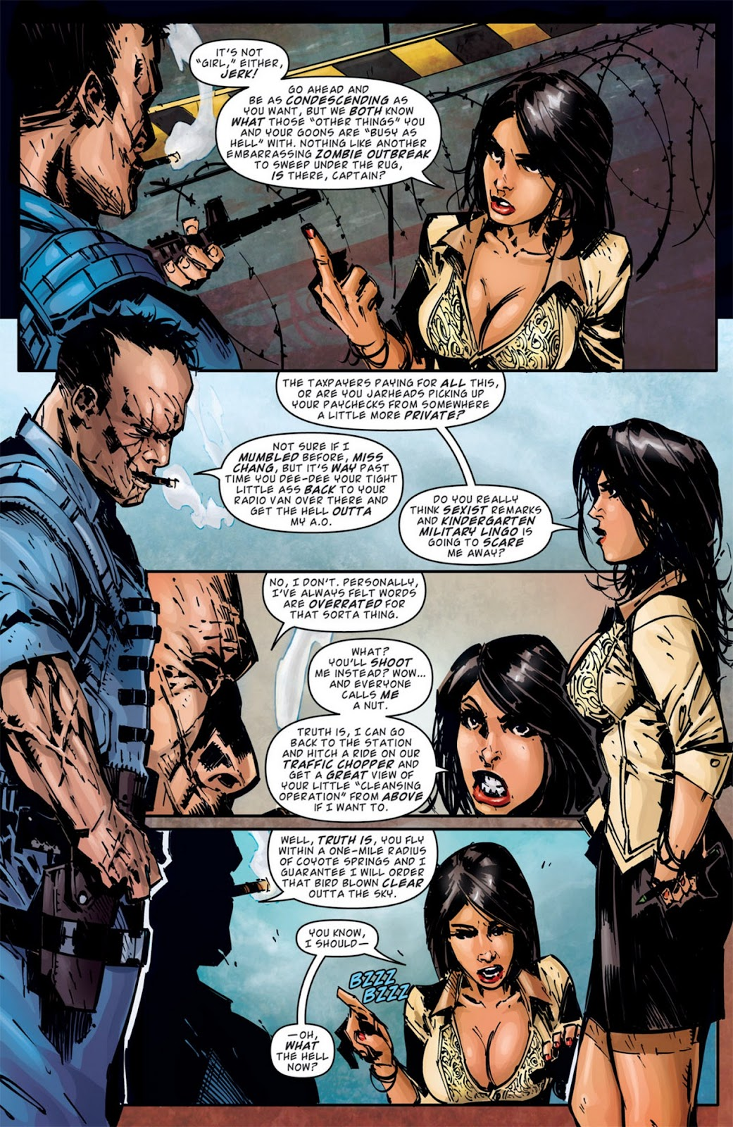Read online Dead Rising: Road to Fortune comic -  Issue #2 - 12