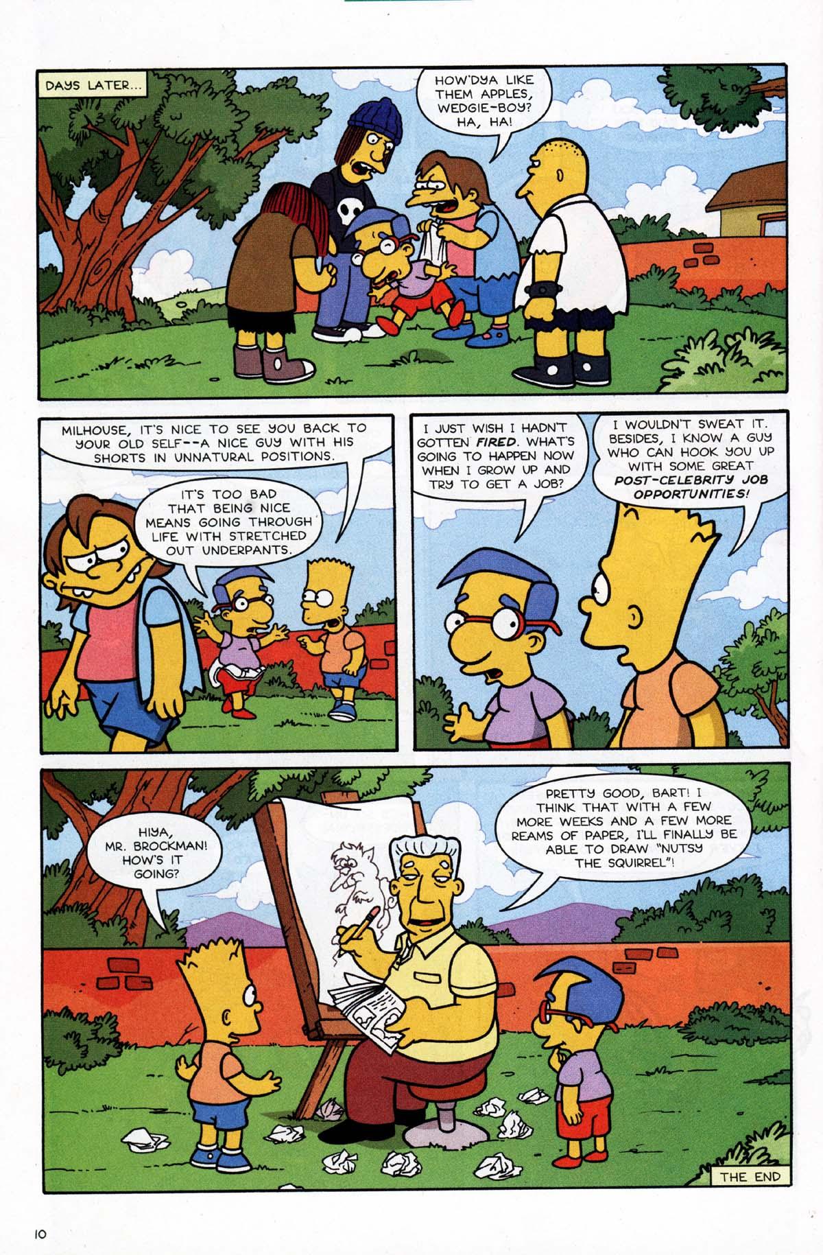 Read online Simpsons Comics Presents Bart Simpson comic -  Issue #10 - 29