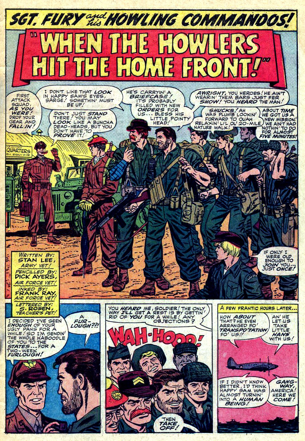 Read online Sgt. Fury comic -  Issue #24 - 3