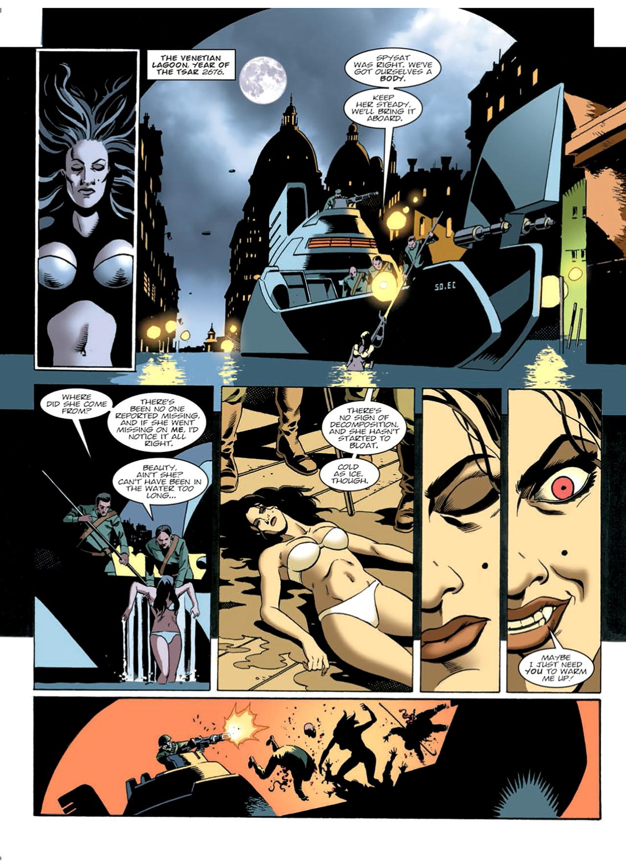 Read online Nikolai Dante comic -  Issue # TPB 9 - 163