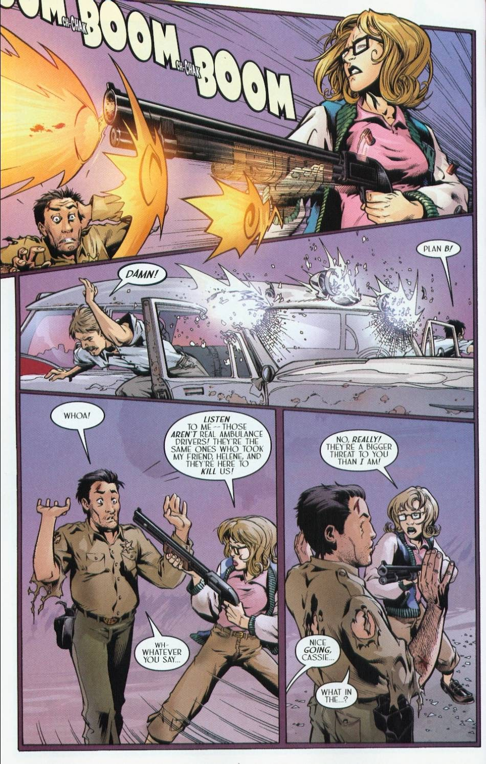 Read online Route 666 comic -  Issue #4 - 8