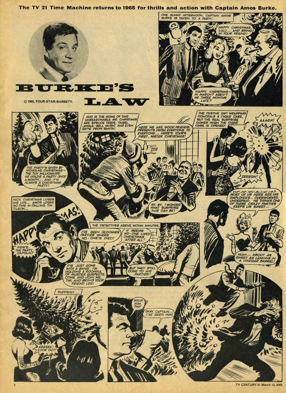 Read online TV Century 21 (TV 21) comic -  Issue #8 - 2