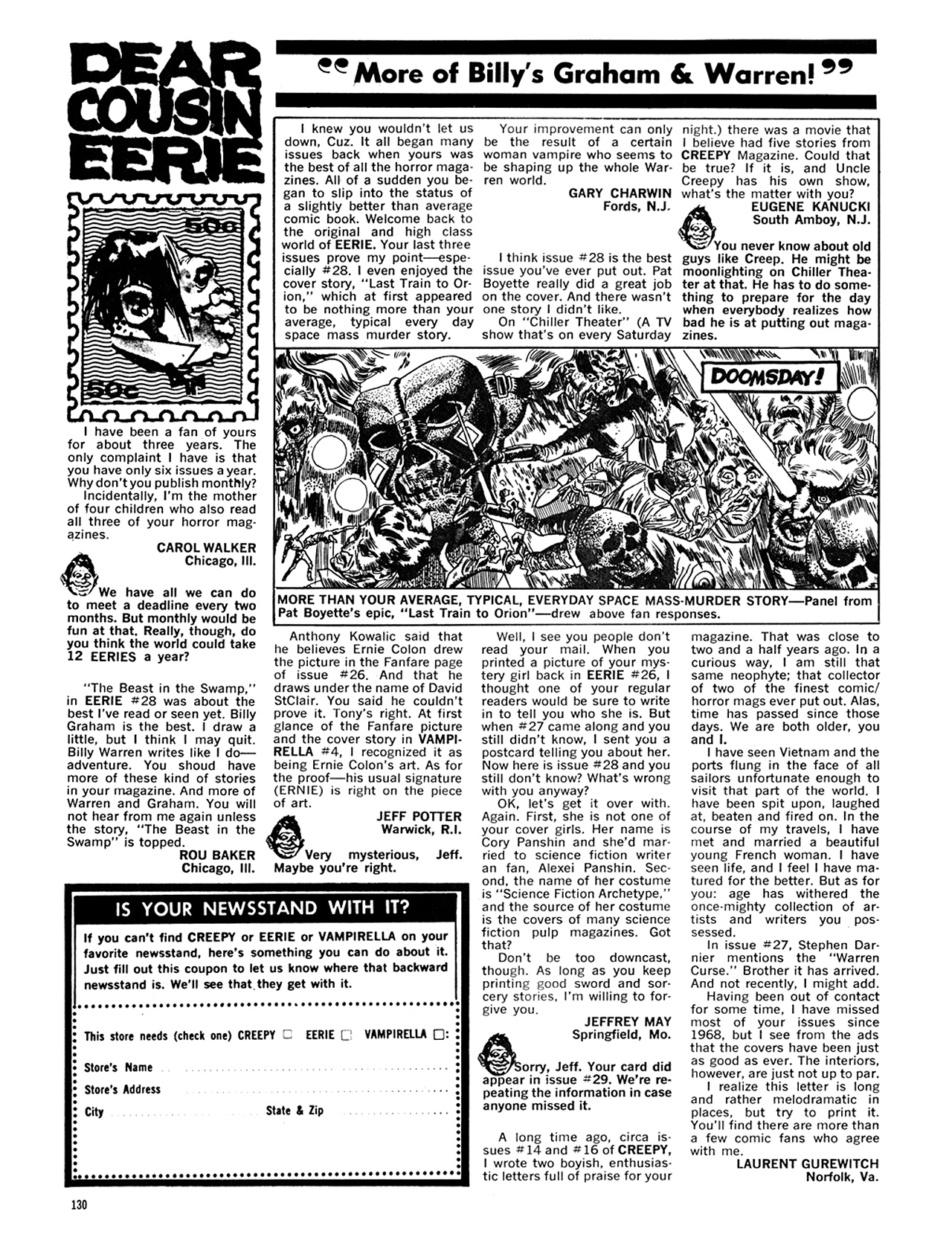 Read online Eerie Archives comic -  Issue # TPB 6 - 130
