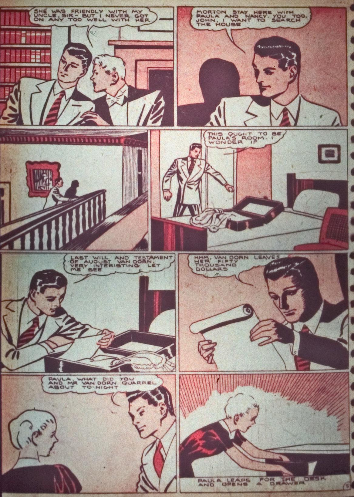 Read online Detective Comics (1937) comic -  Issue #26 - 20