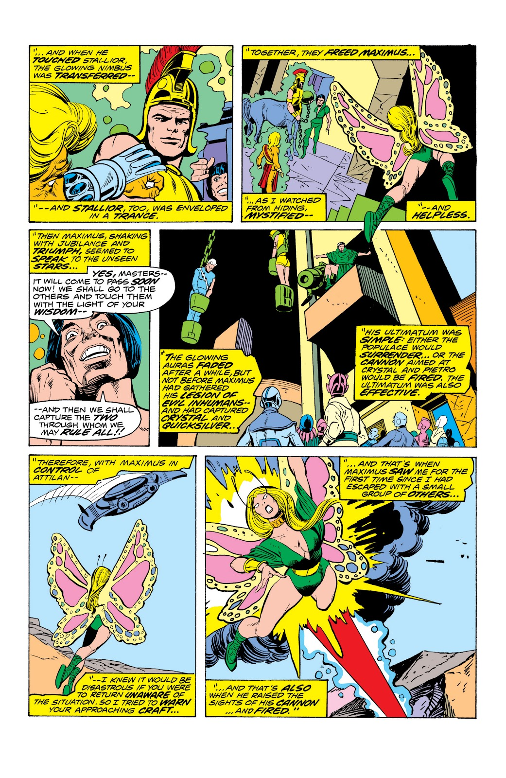 Read online Marvel Masterworks: The Inhumans comic -  Issue # TPB 2 (Part 1) - 95