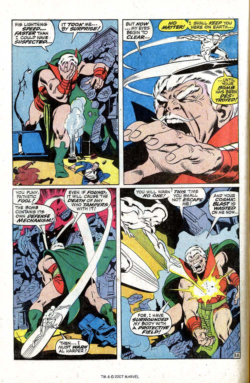 Silver Surfer (1968) issue 5 - Page 40