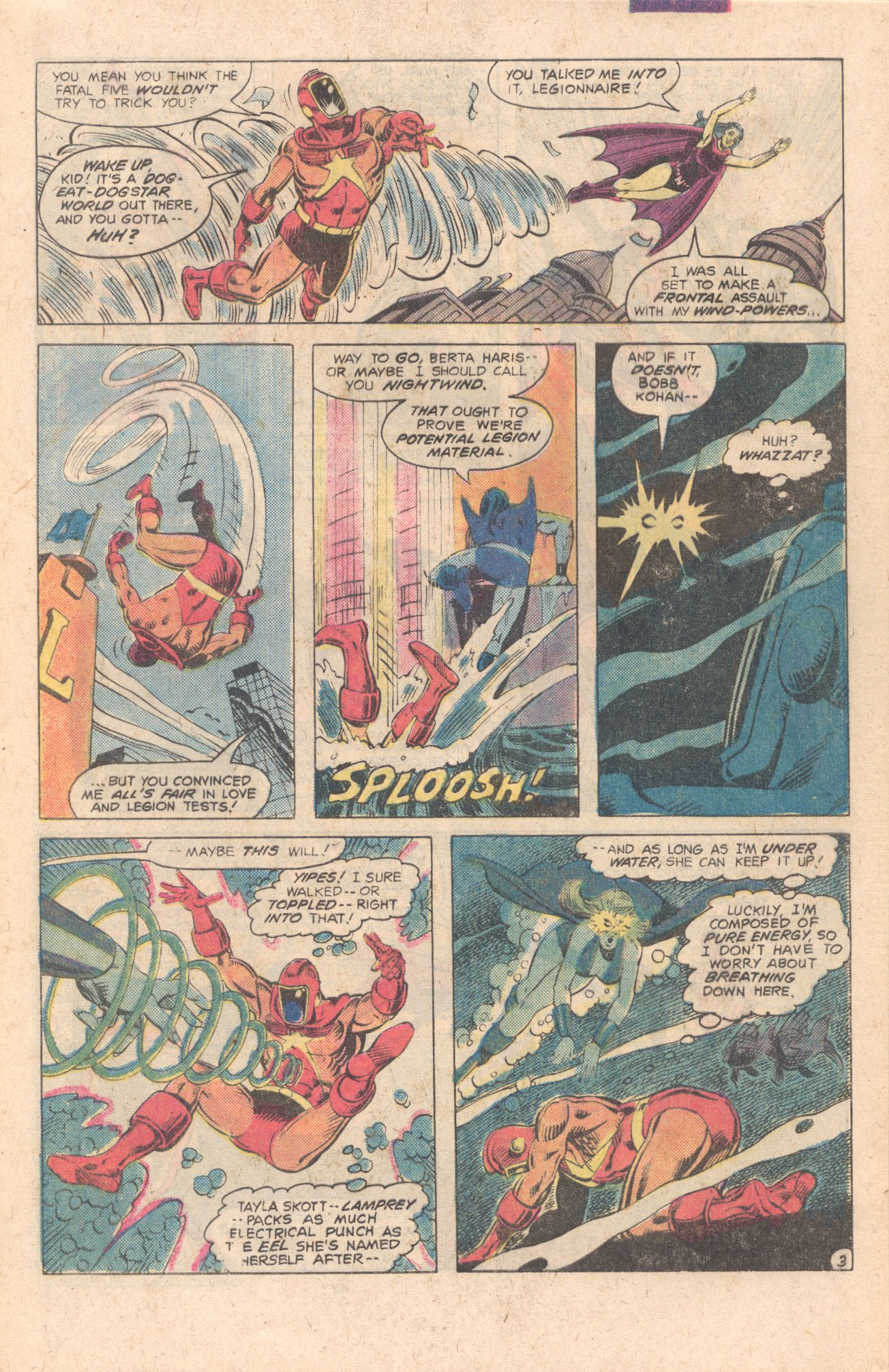 Legion of Super-Heroes (1980) 283 Page 3