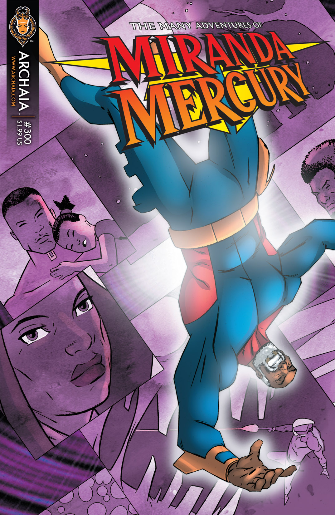 Read online The Many Adventures of Miranda Mercury: Time Runs Out comic -  Issue # TPB - 140