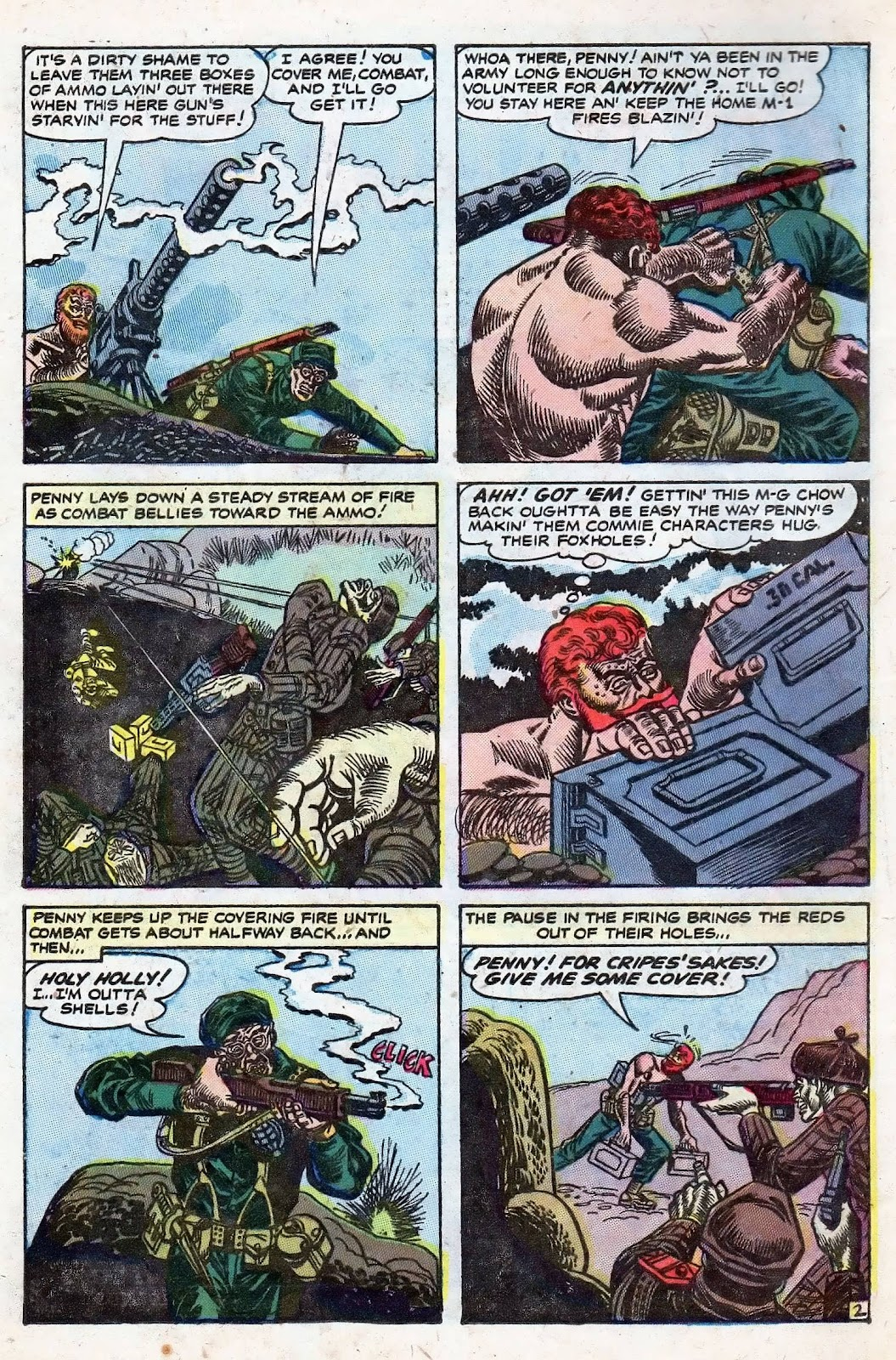 Combat (1952) issue 8 - Page 4