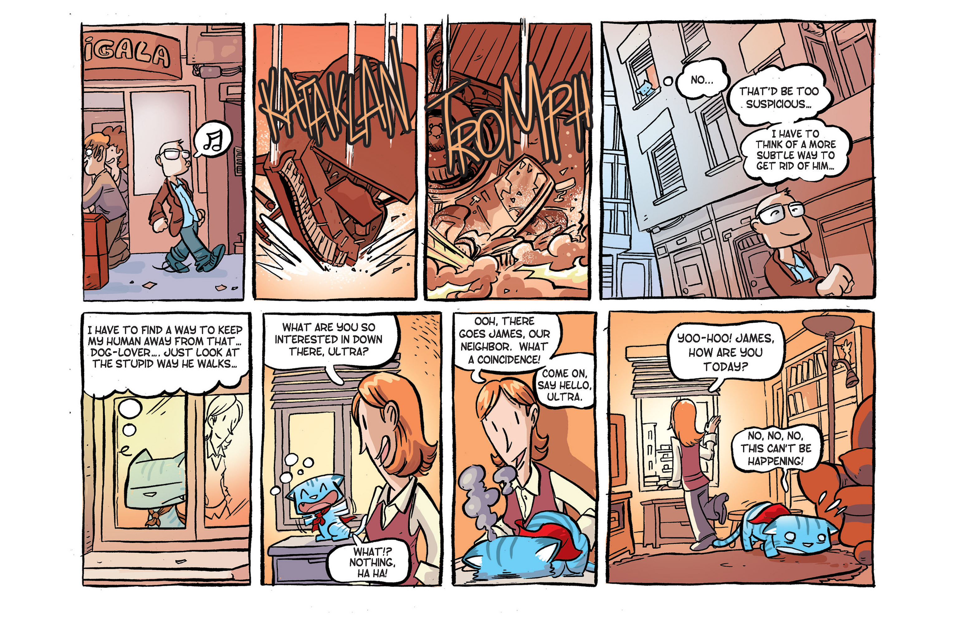 Read online Ultracat comic -  Issue #2 - 4