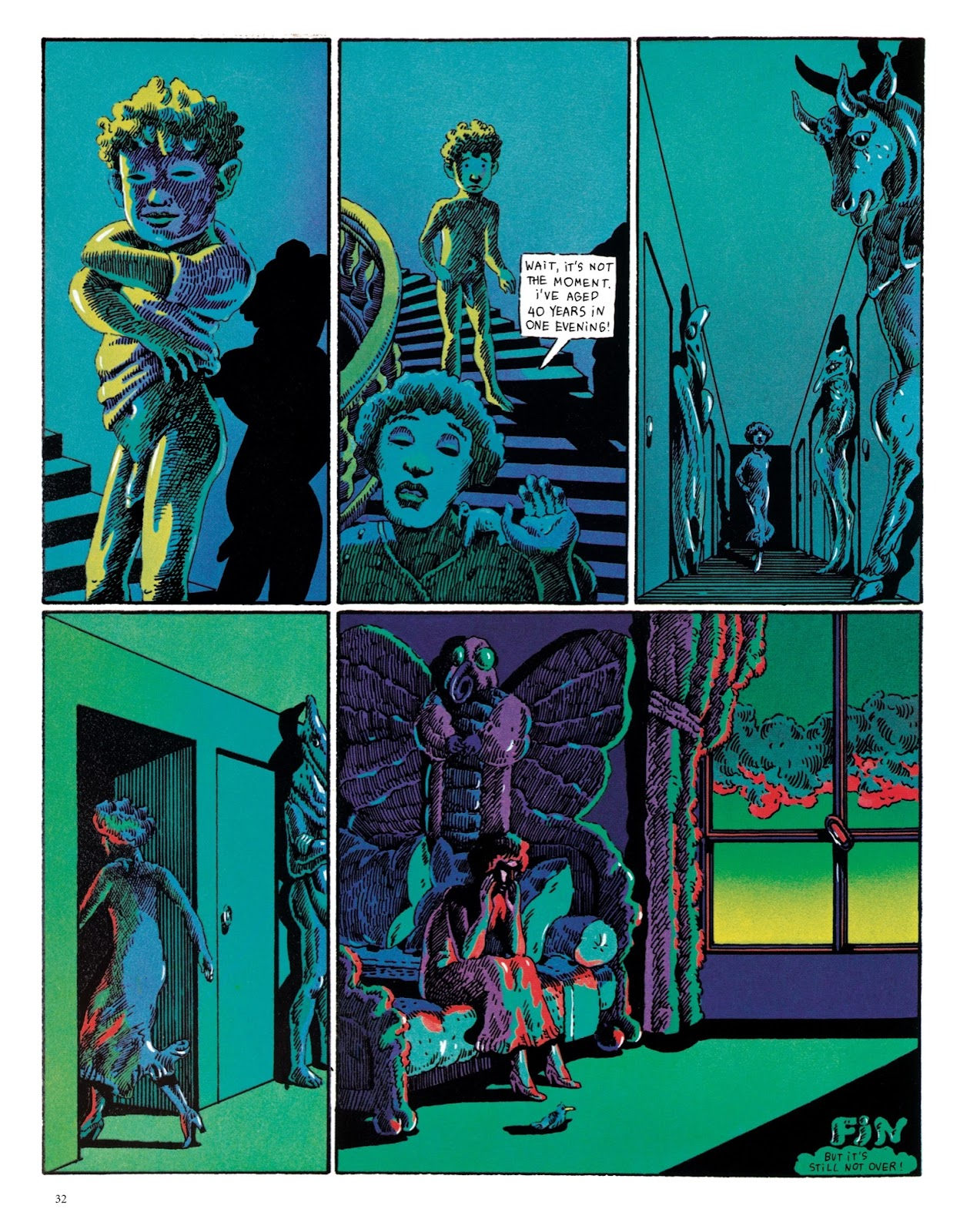 Read online The Green Hand and Other Stories comic -  Issue # TPB - 31