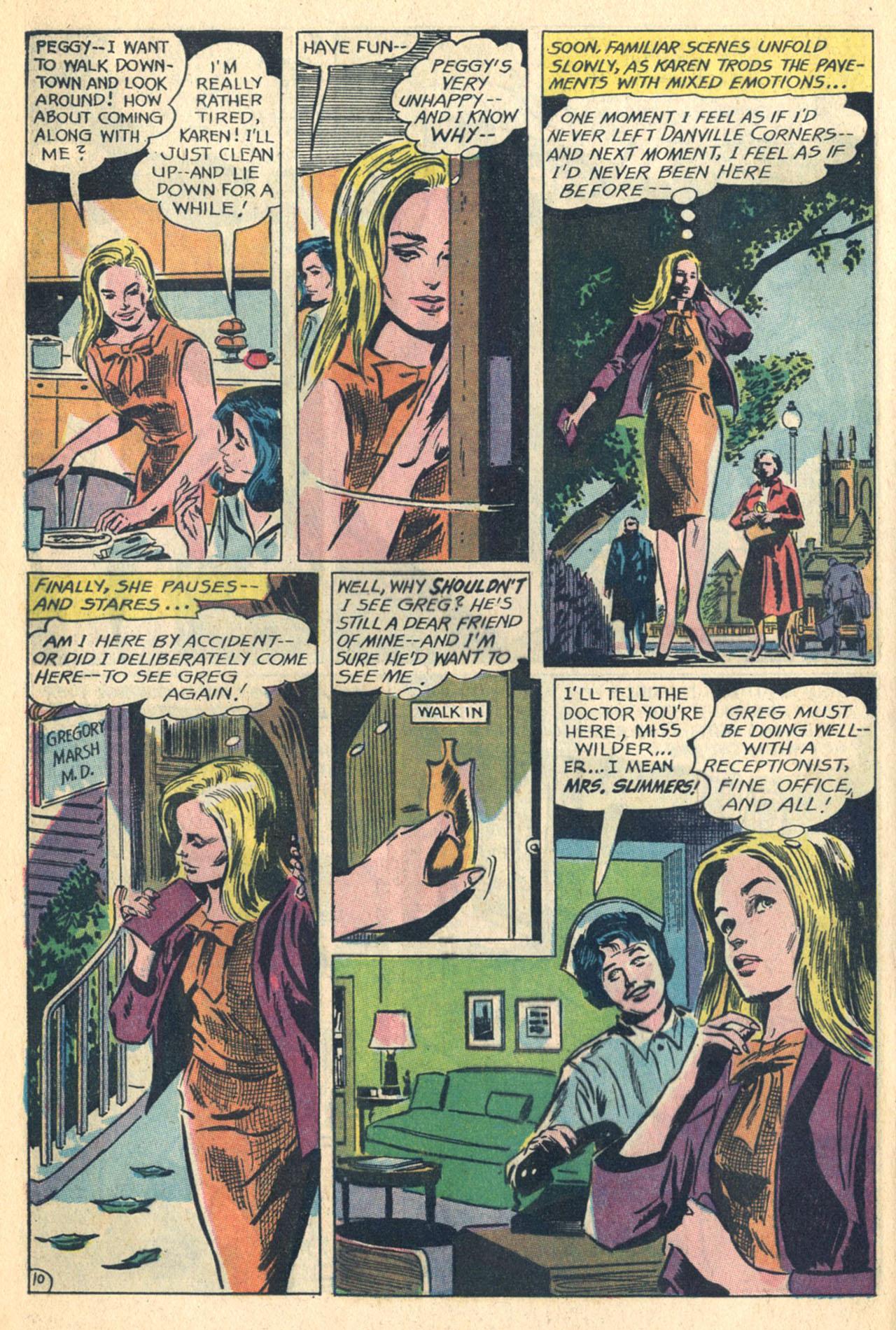 Read online Secret Hearts comic -  Issue #110 - 28