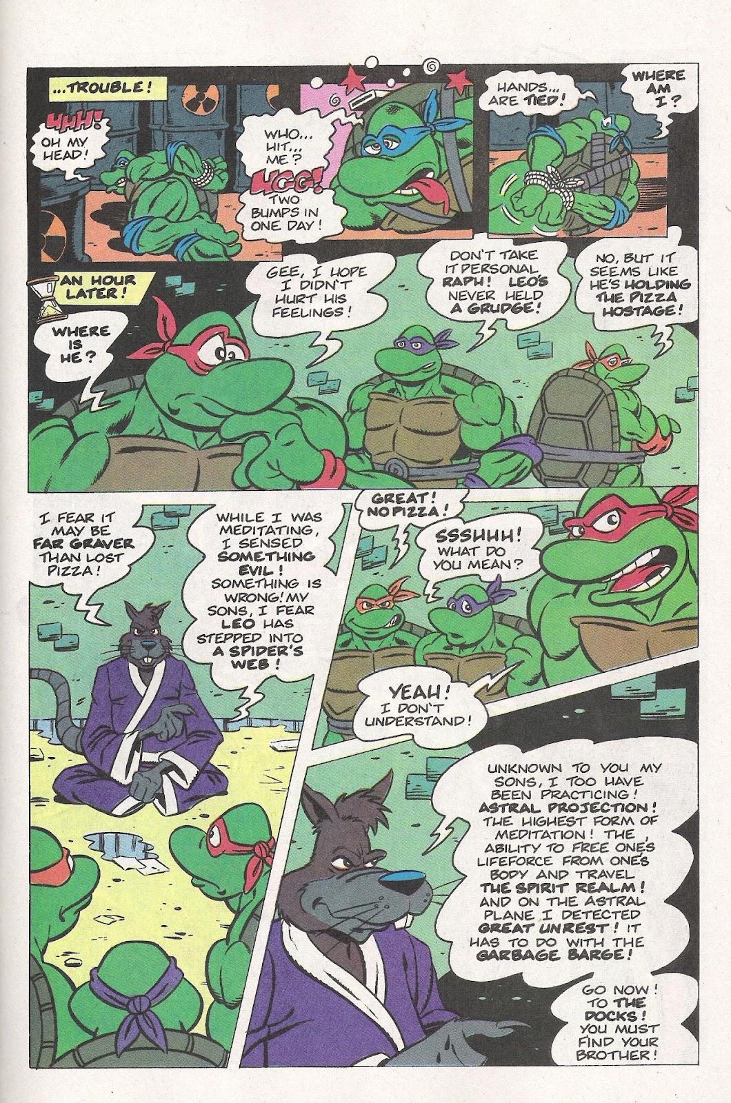 Comic Teenage Mutant Ninja Turtles Adventures (1989) issue 5