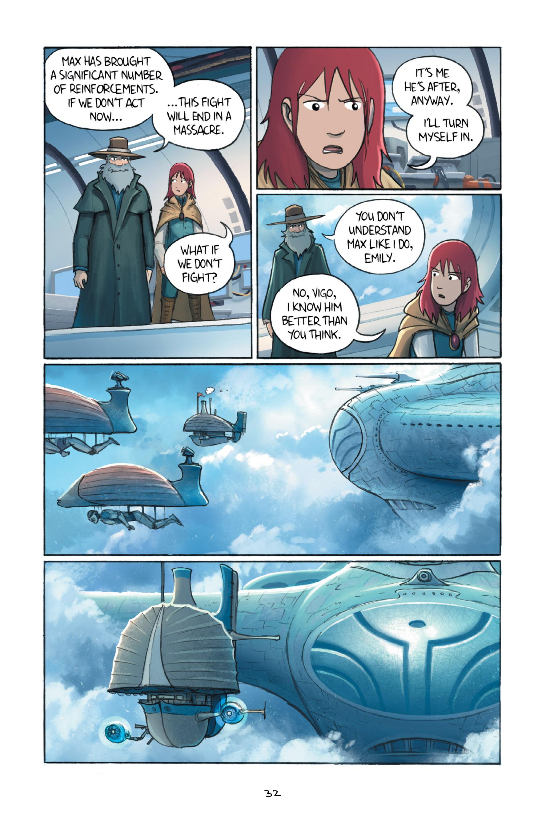 Read online Amulet comic -  Issue #6 - 35