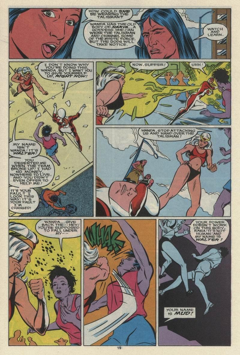Read online Alpha Flight (1983) comic -  Issue #68 - 21