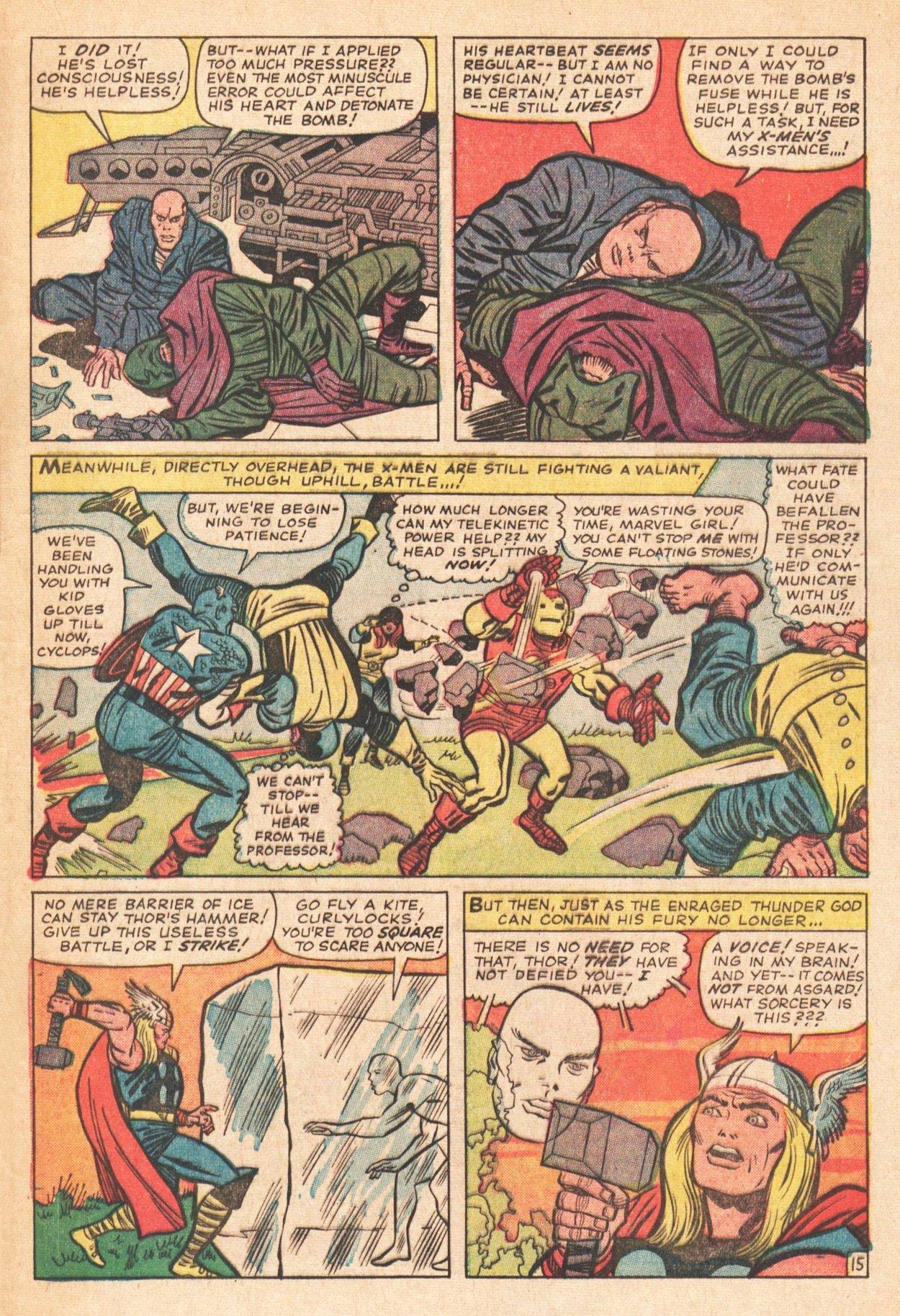 Read online Uncanny X-Men (1963) comic -  Issue # _Annual 1 - 20