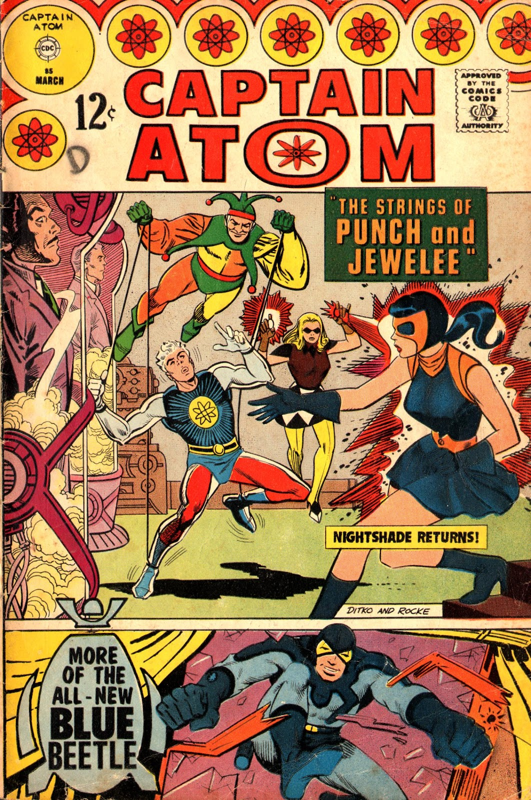 Captain Atom (1965) issue 85 - Page 1
