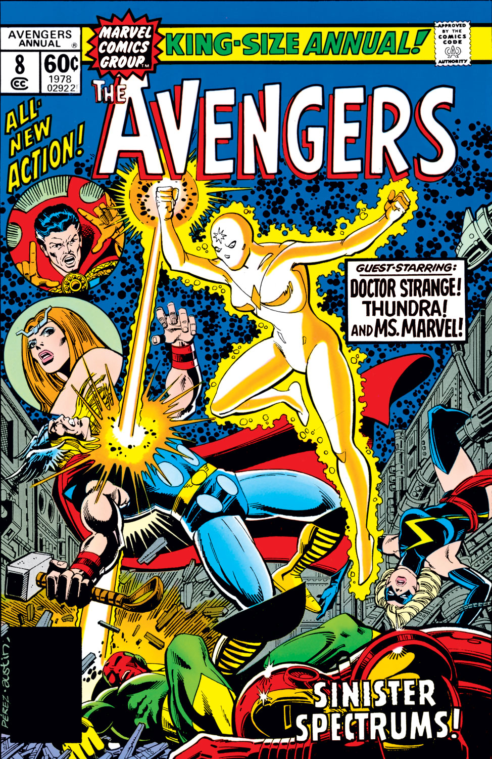 The Avengers (1963) issue _Annual_8 - Page 1