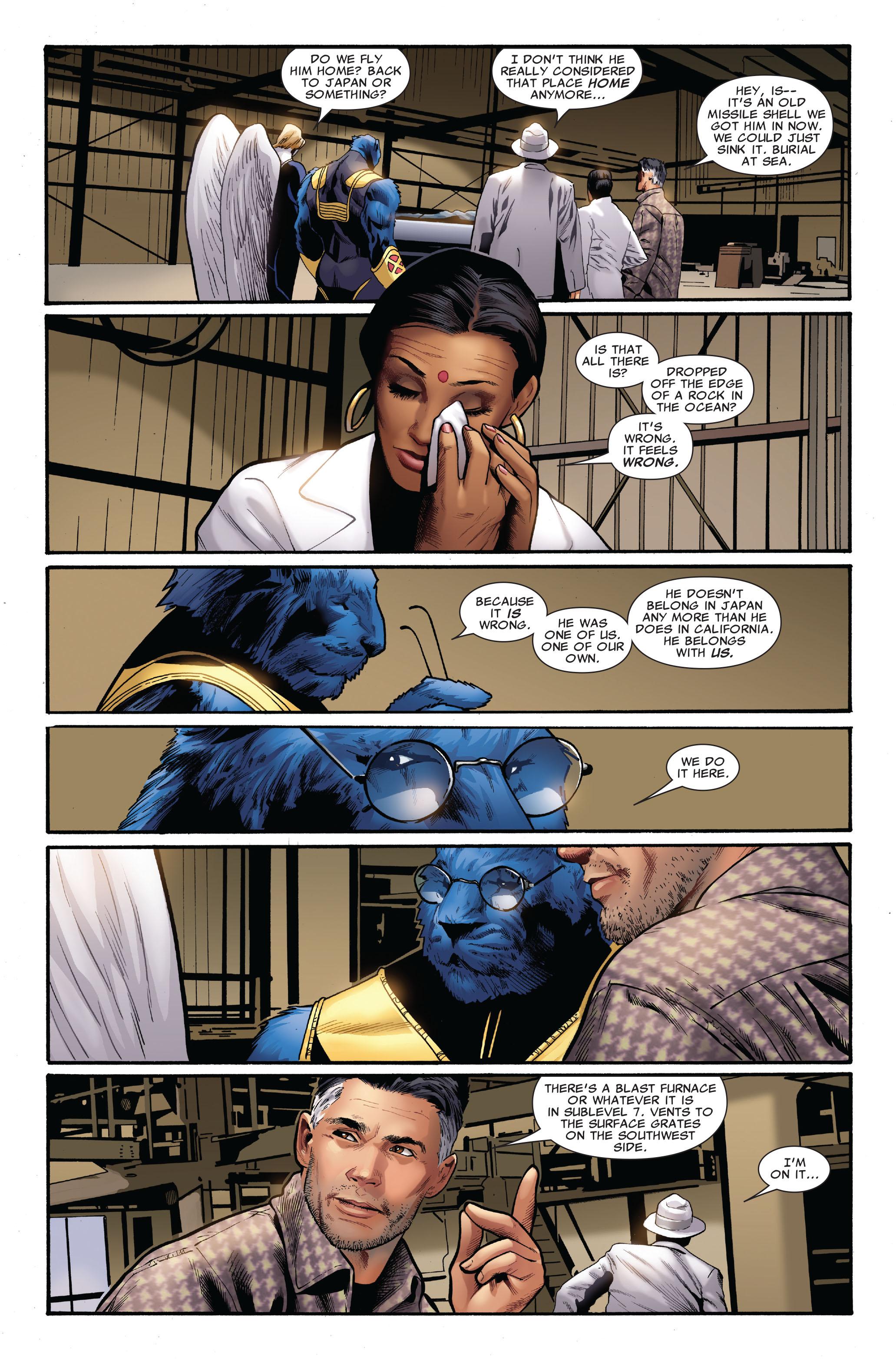 Read online Uncanny X-Men (1963) comic -  Issue #515 - 18