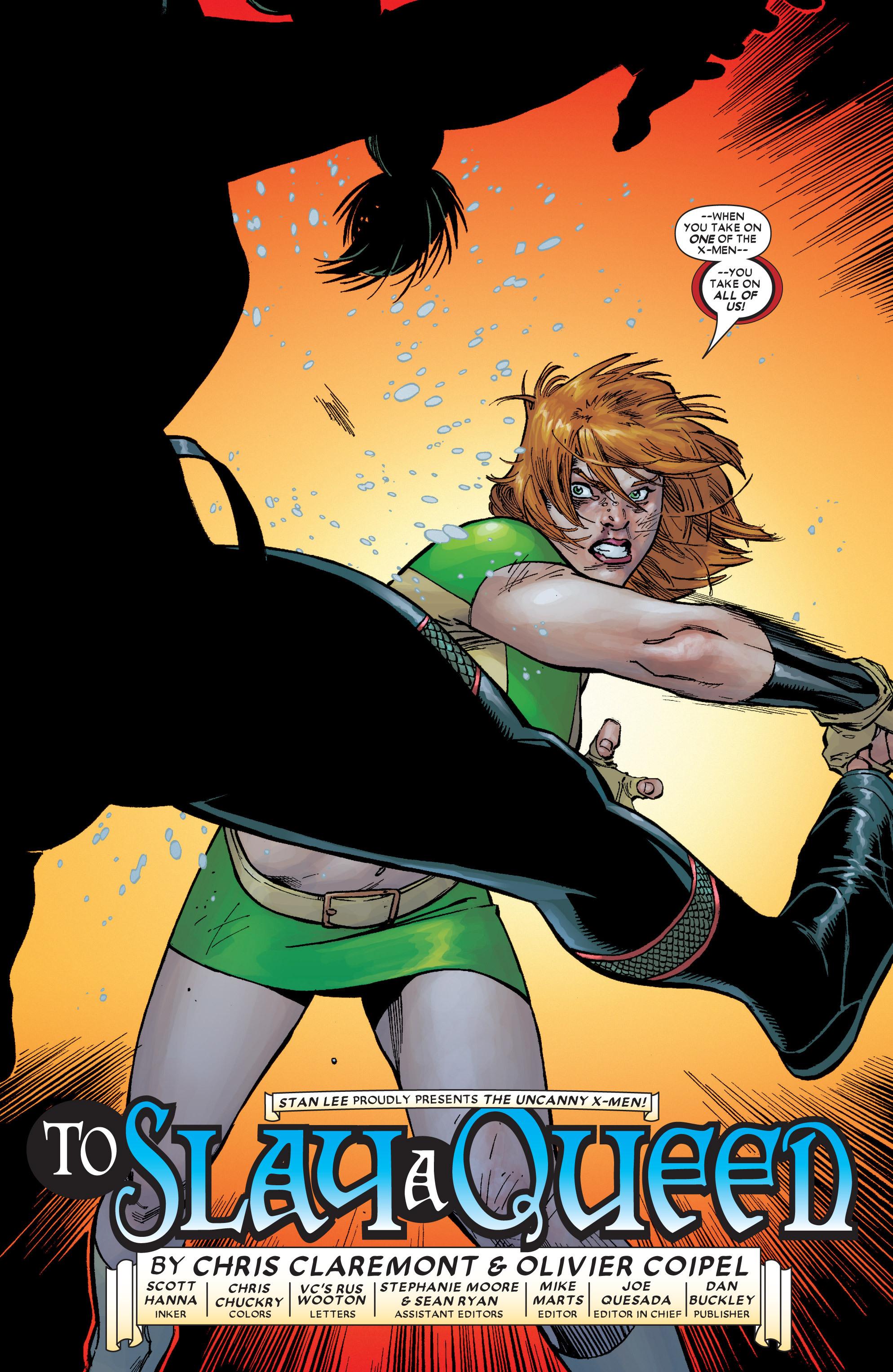 Read online Uncanny X-Men (1963) comic -  Issue #449 - 4