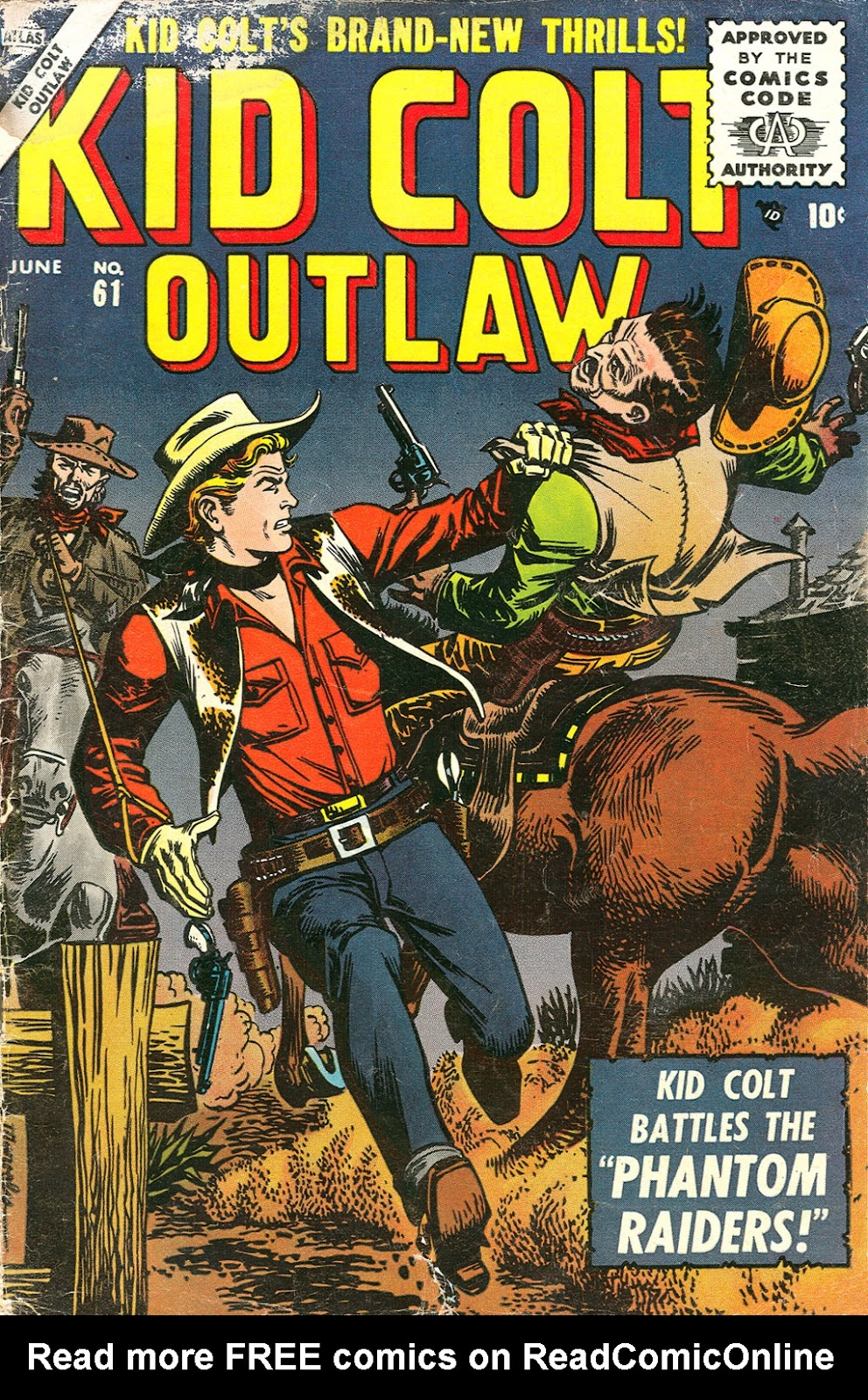 Kid Colt Outlaw issue 61 - Page 1