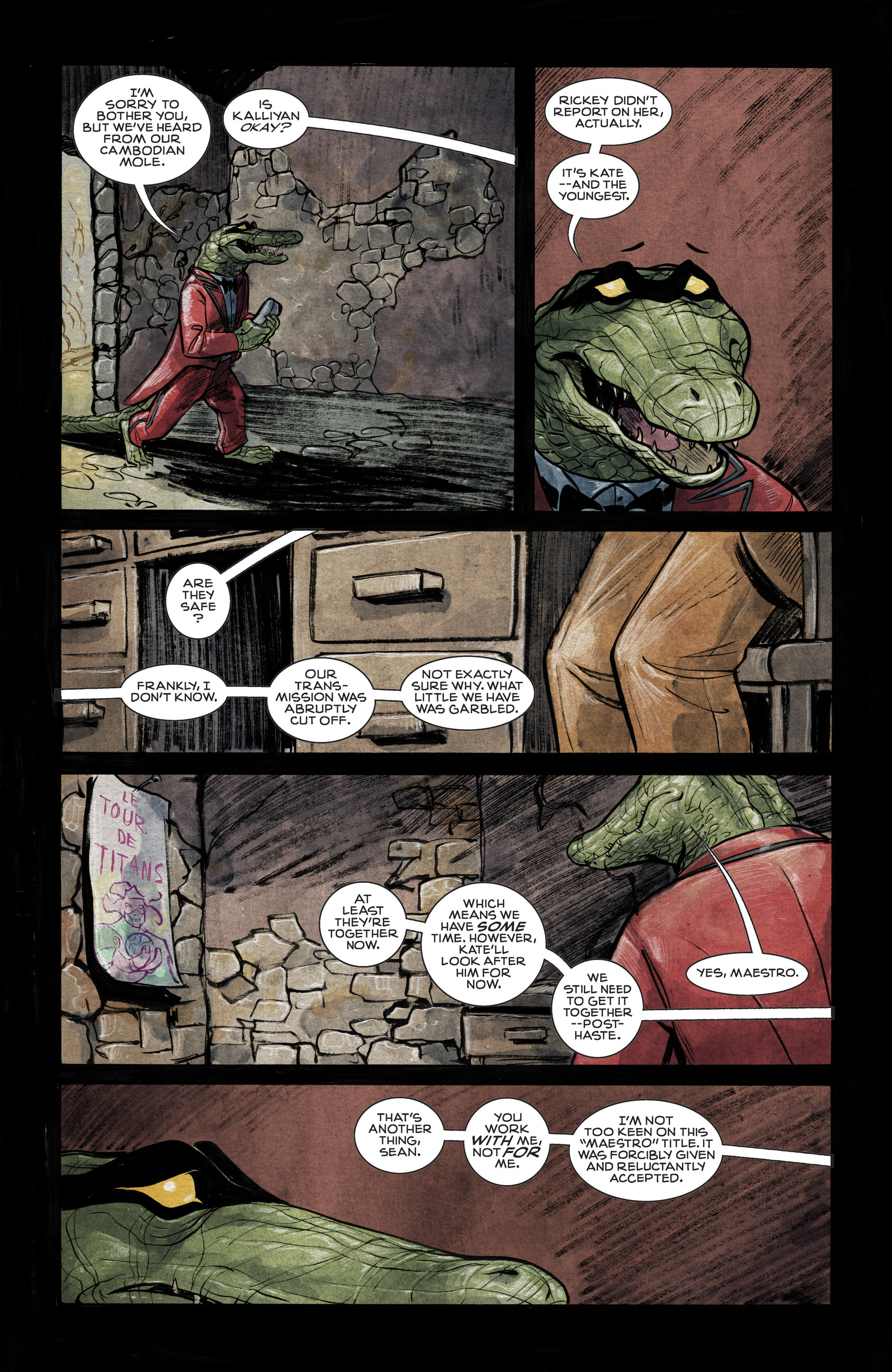 Read online Shutter comic -  Issue #12 - 27