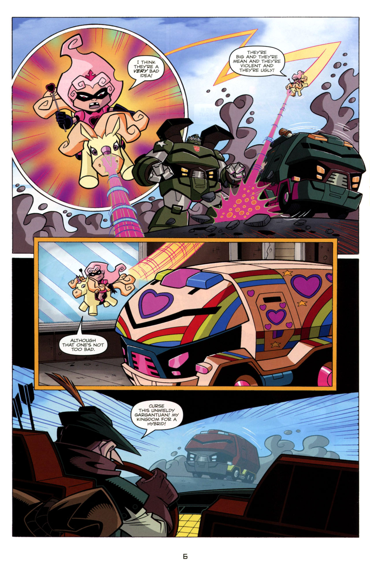 Read online Transformers Animated: The Arrival comic -  Issue #4 - 9